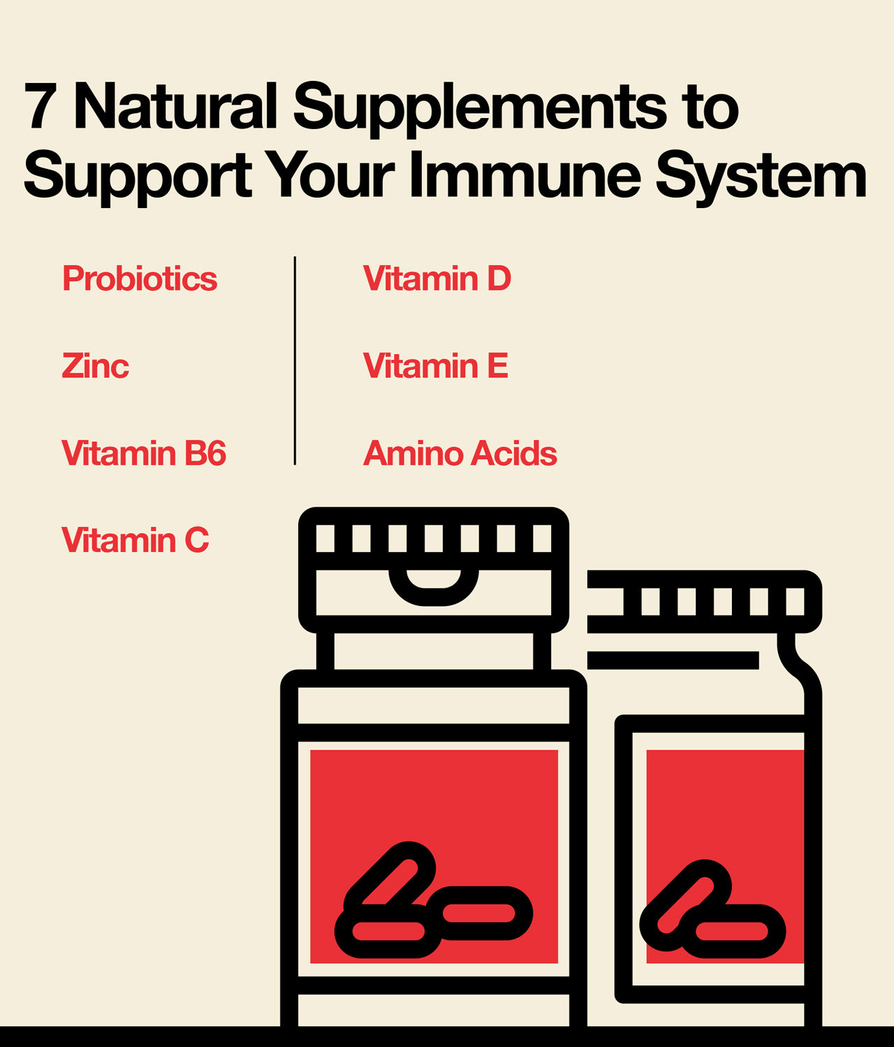 Natural supplements to support immune system