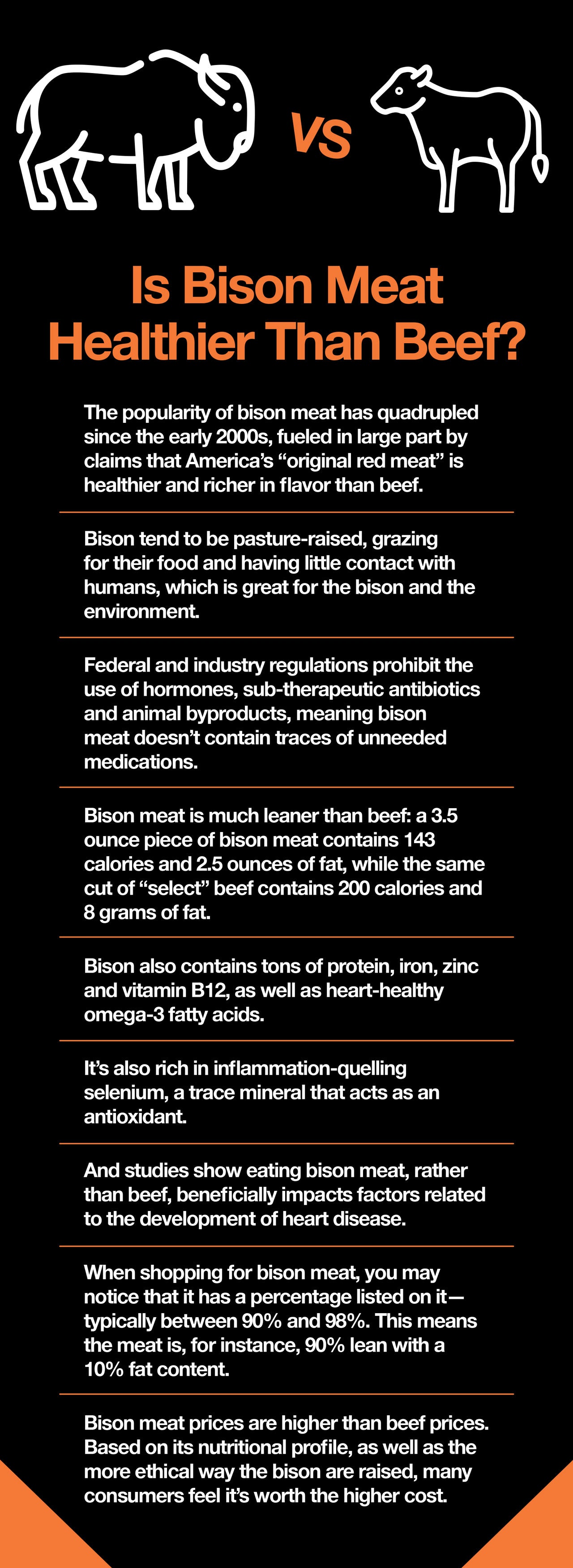 Is Bison Meat Healthier Than Beef?