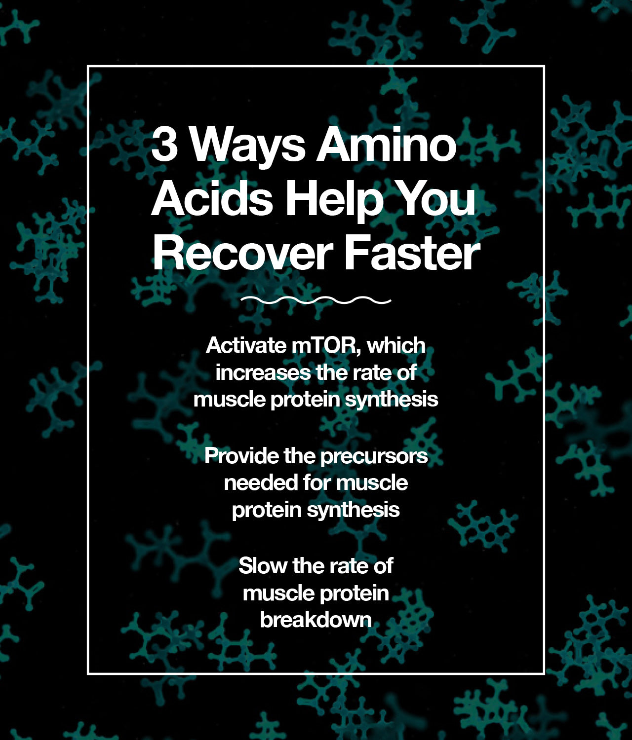 3 ways amino acids help you recover faster