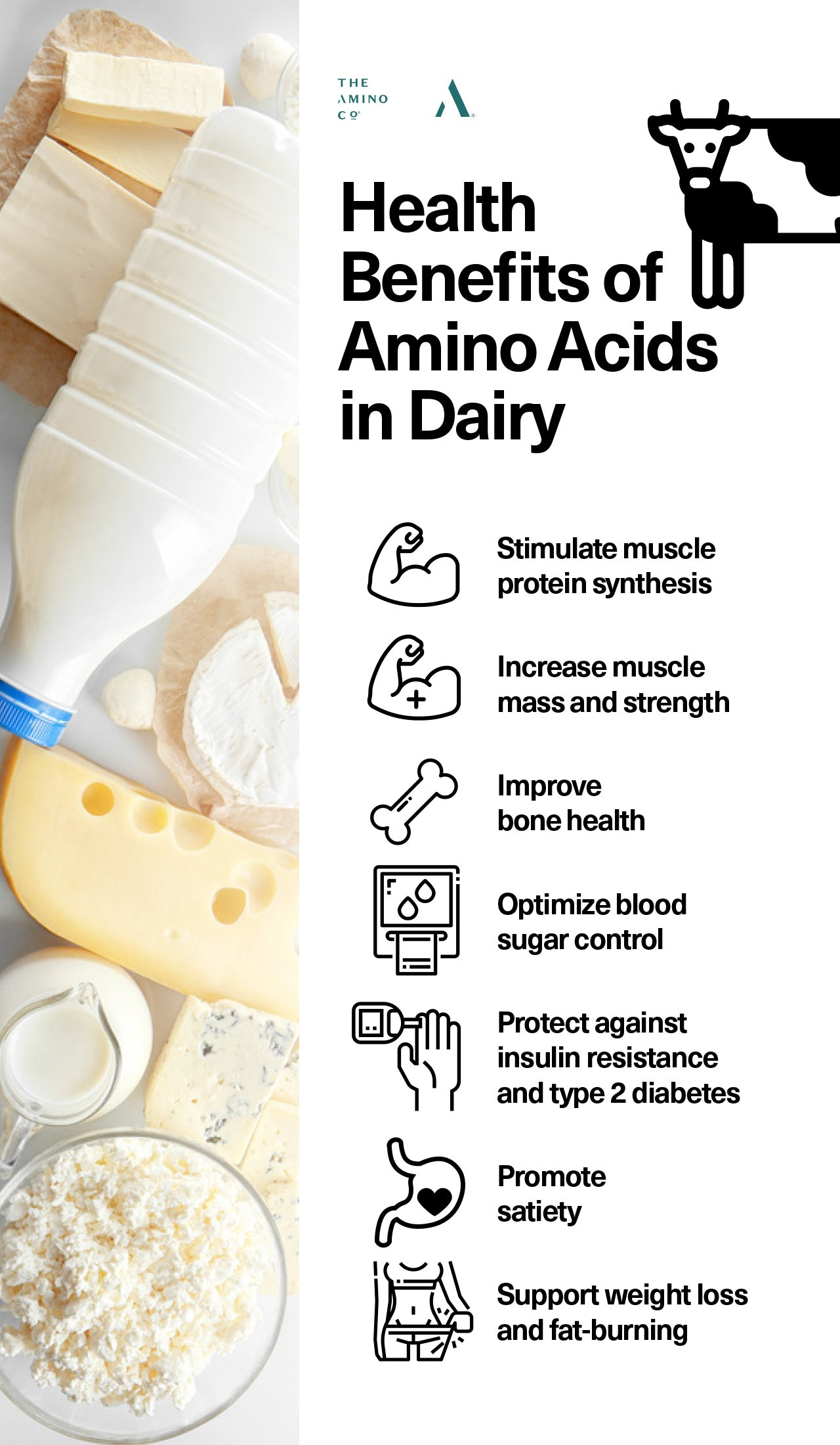 Health Benefits of Amino Acids in Dairy