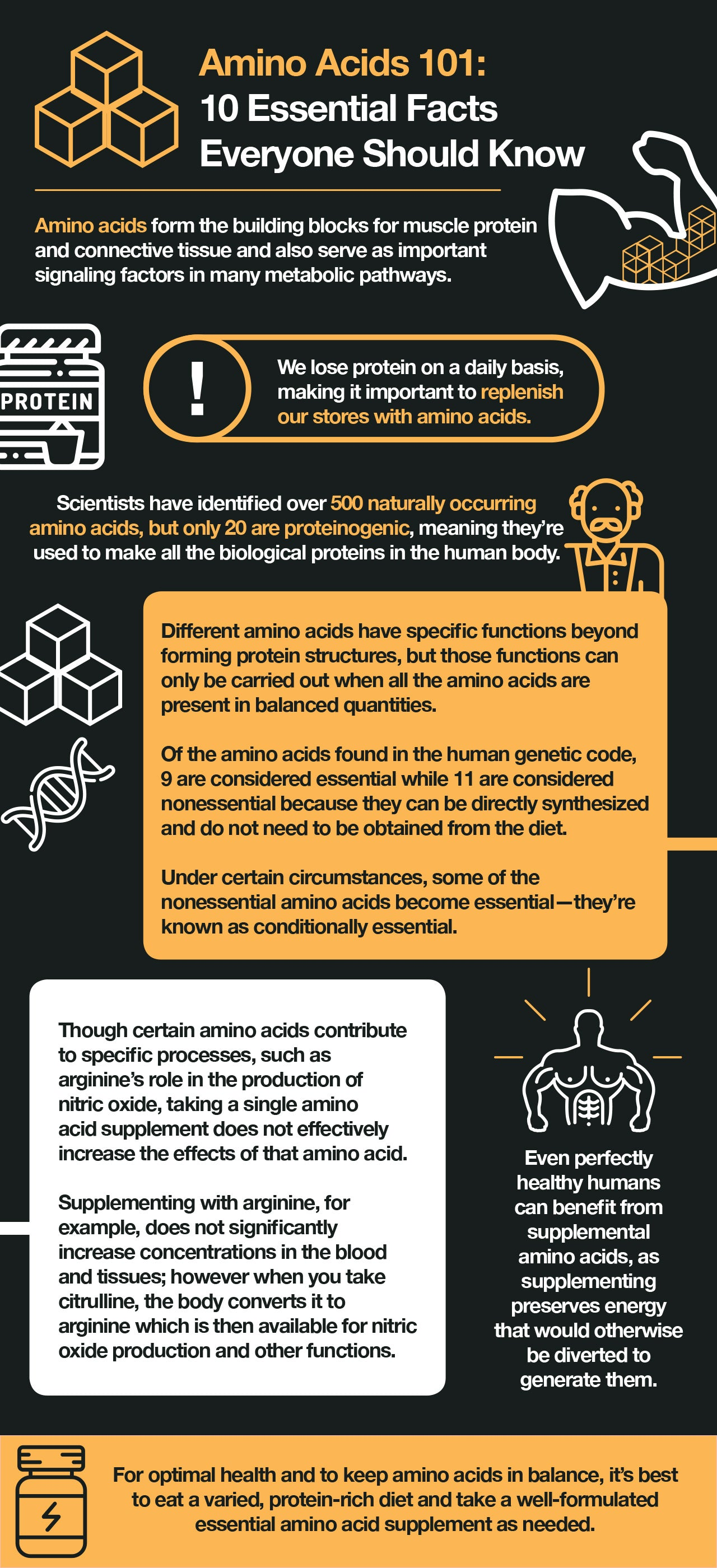Amino acid facts to know