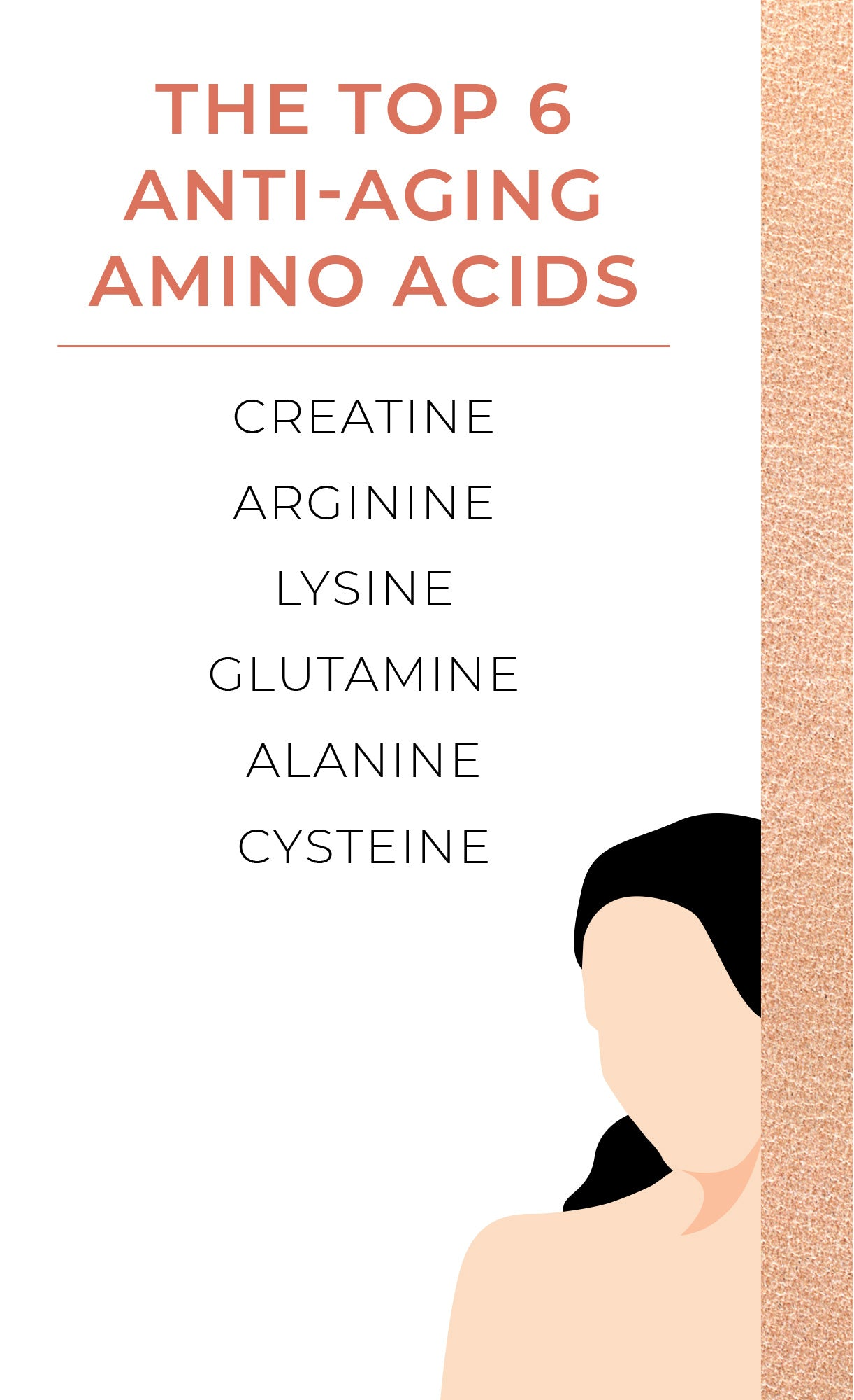 When it comes to aging, there's one thing we know for sure—it happens. There are many preventative measures we can take to protect against accelerated aging and improve quality of life into our golden years. Nutritive support with anti-aging amino acids is one of the top ways to keep aging at arm's length.