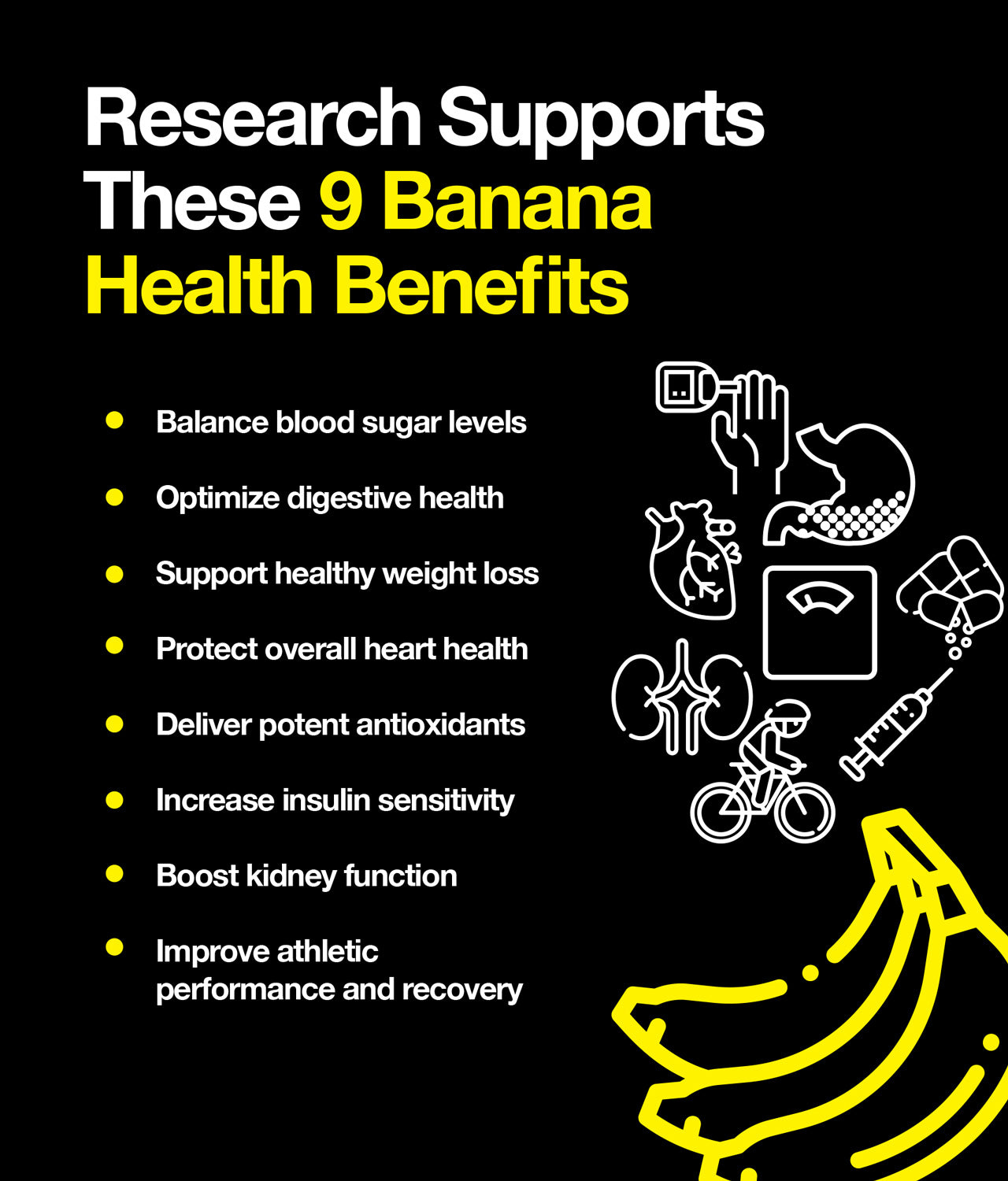 Research Supports These 9 Banana Health Benefits