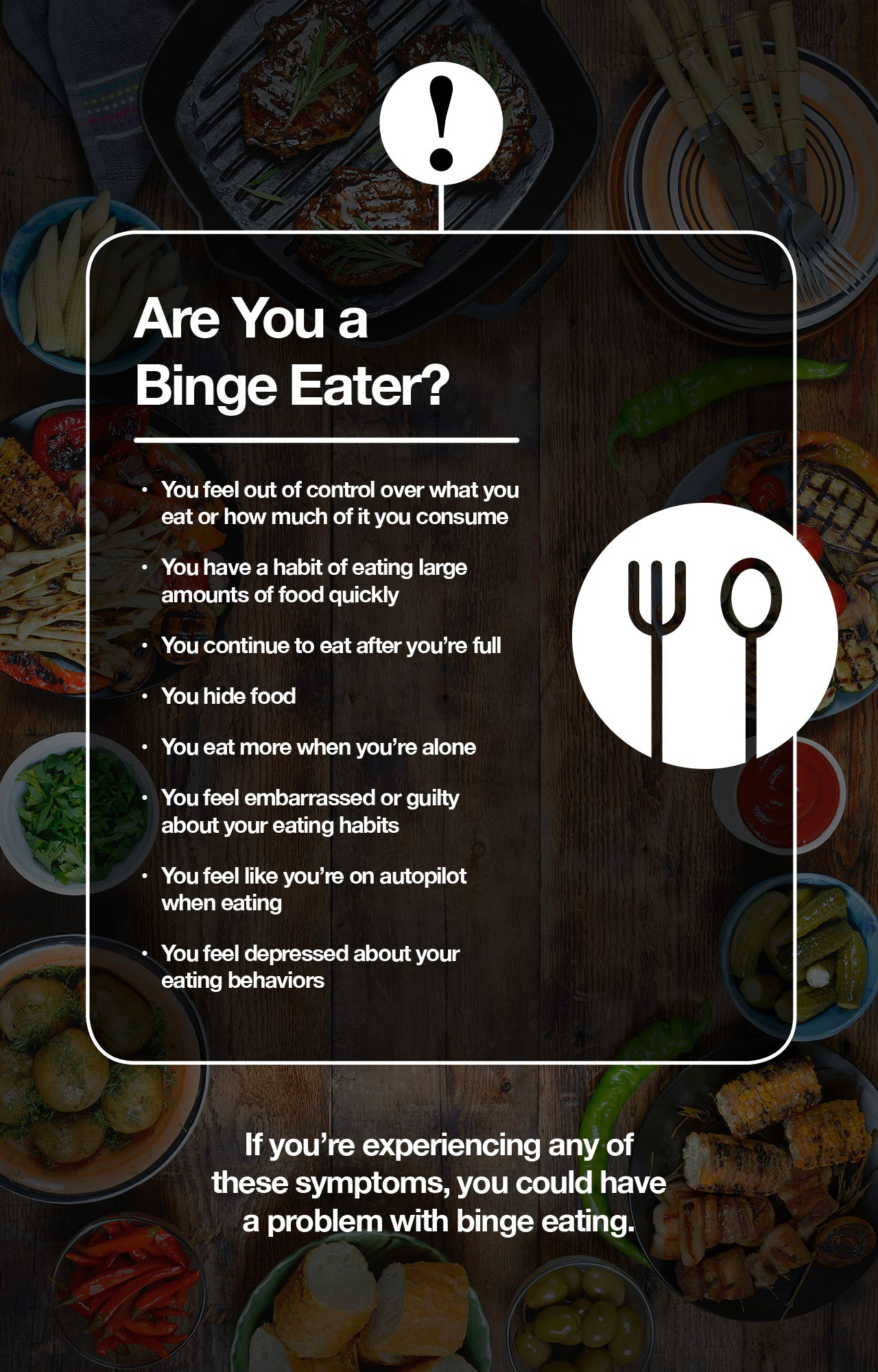 How to tell if you are a binge eater