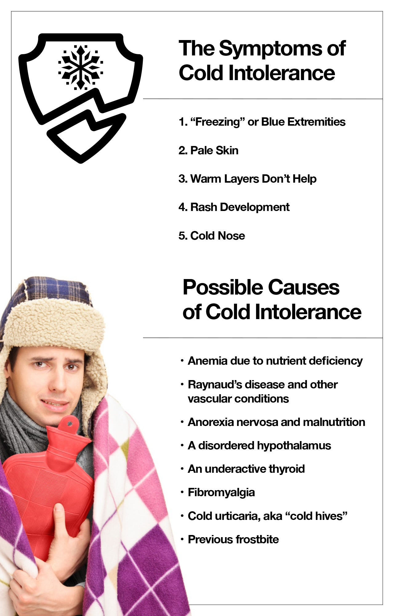 The Symptoms of Cold Intolerance
