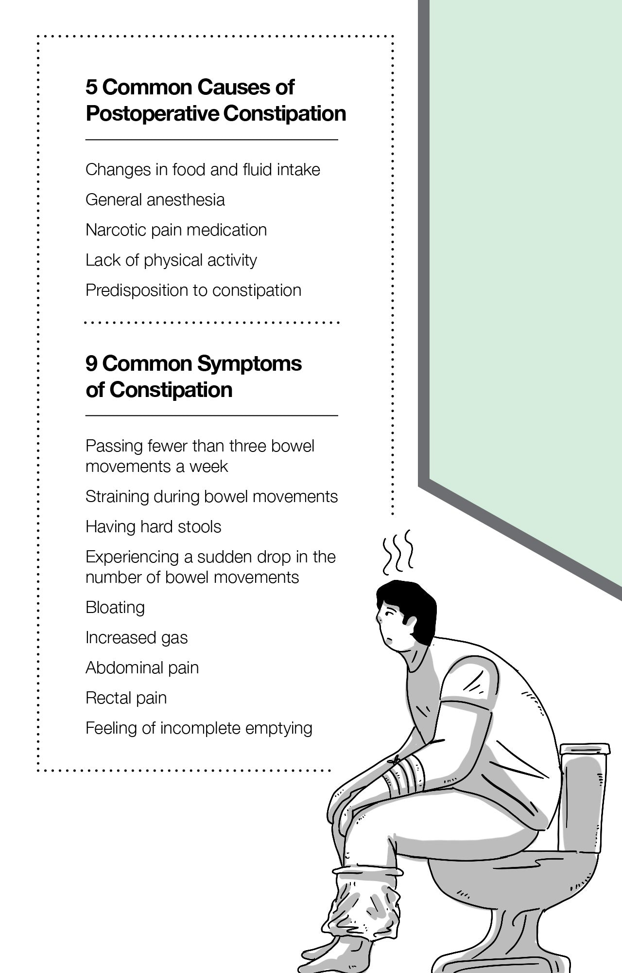 5 Common Causes of Postoperative Constipation