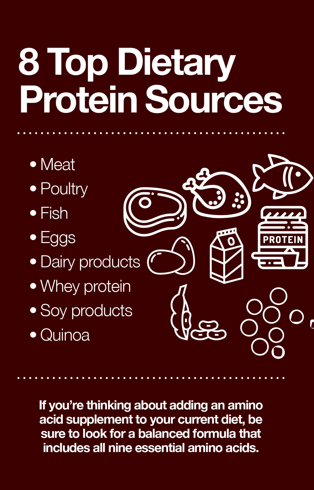 8 Top Dietary Protein Sources