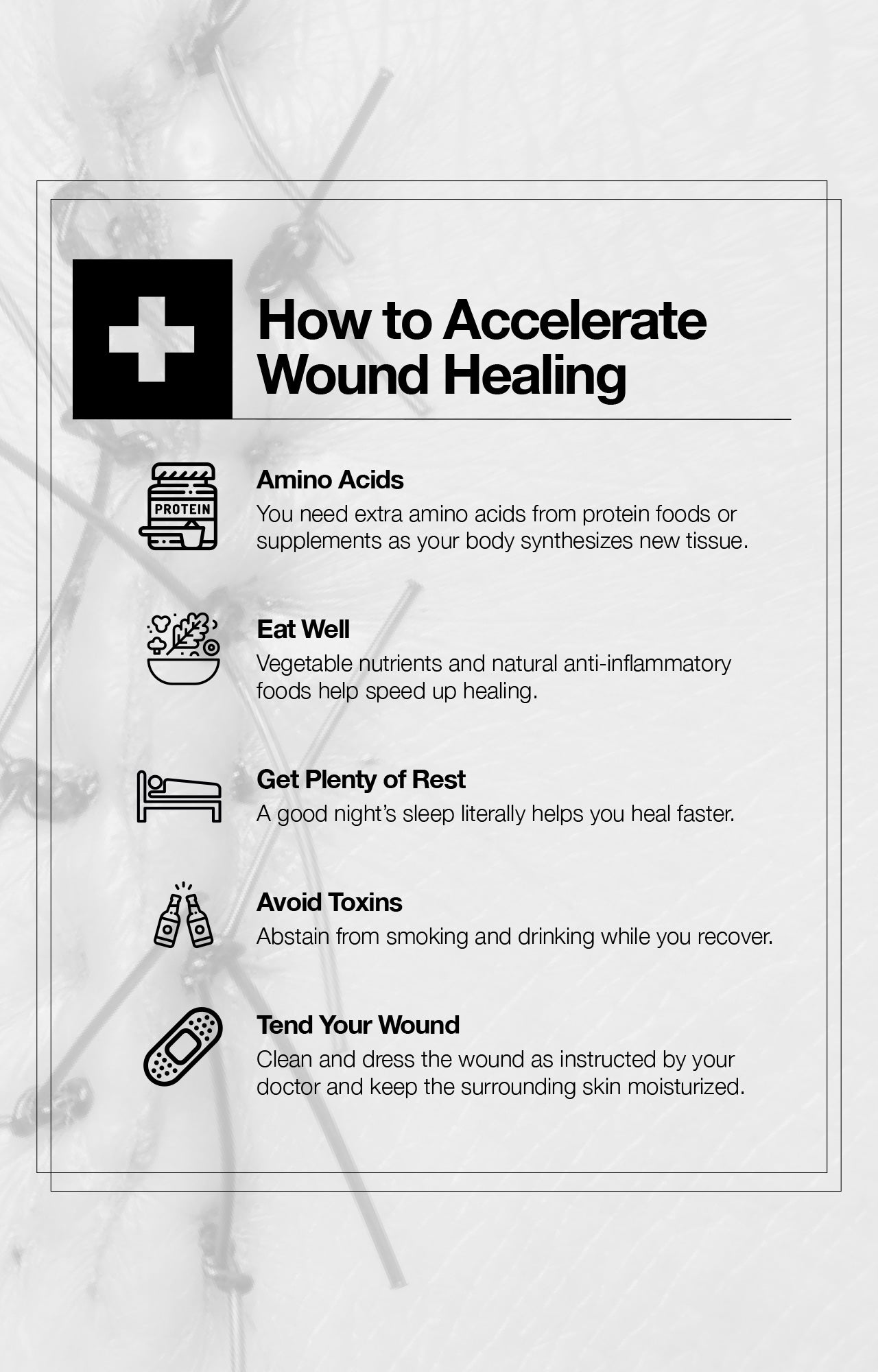 How to Accelerate Wound Healing