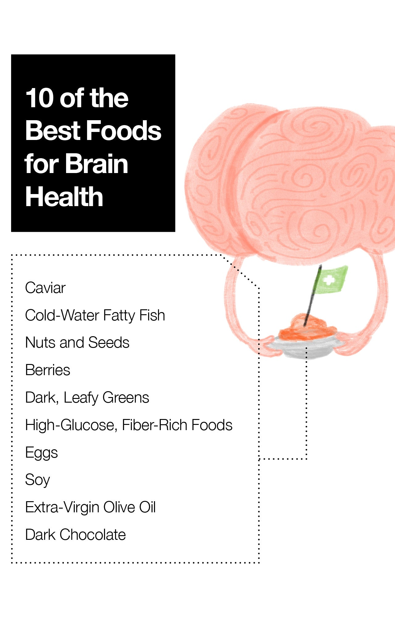 10 of the Best Foods for Brain Health