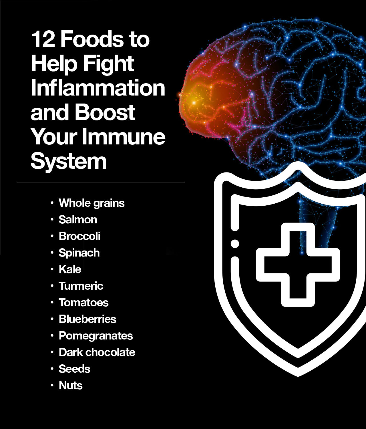 Foods for inflammation and immunity