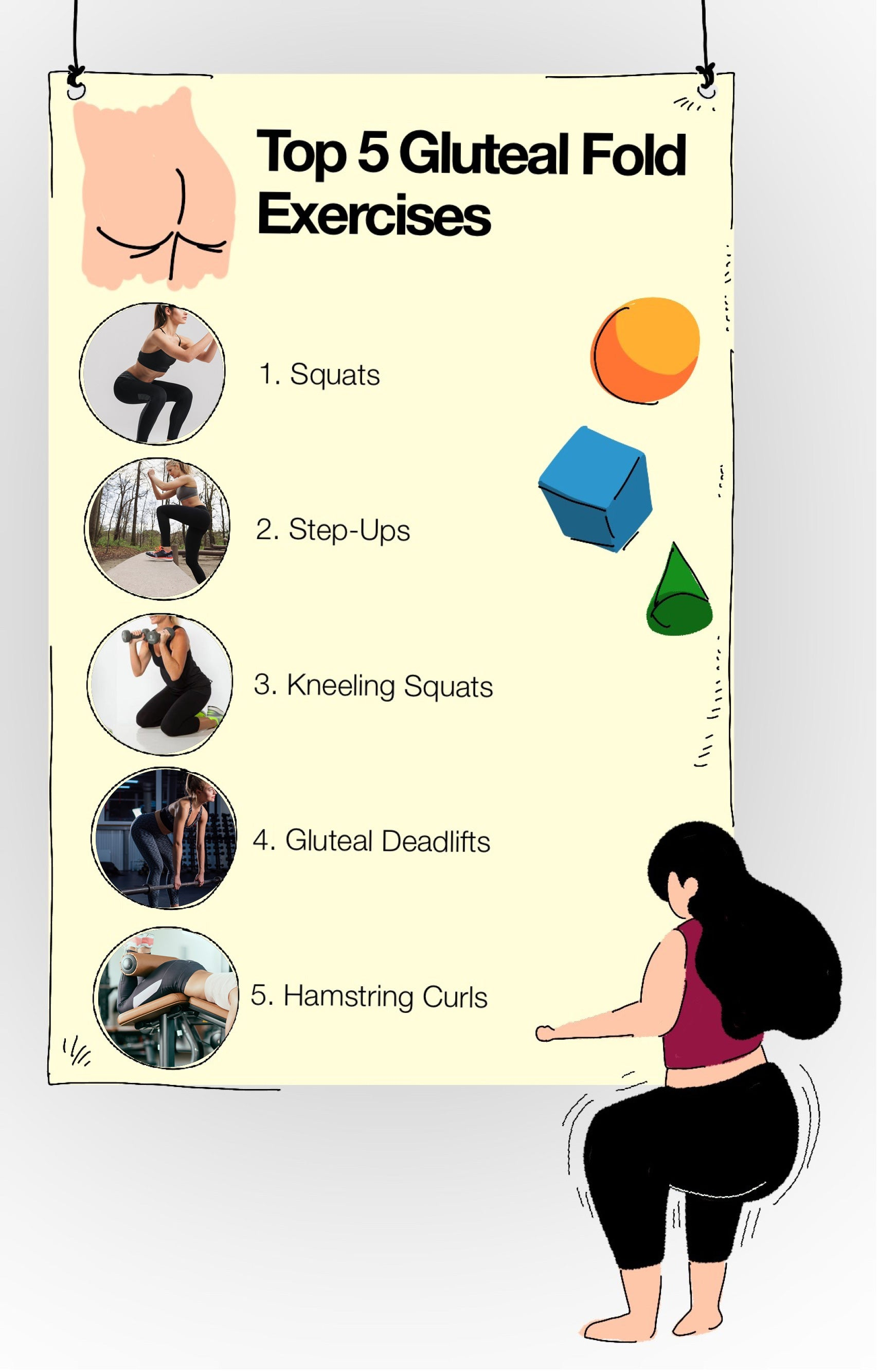 Top 5 Gluteal Fold Exercises