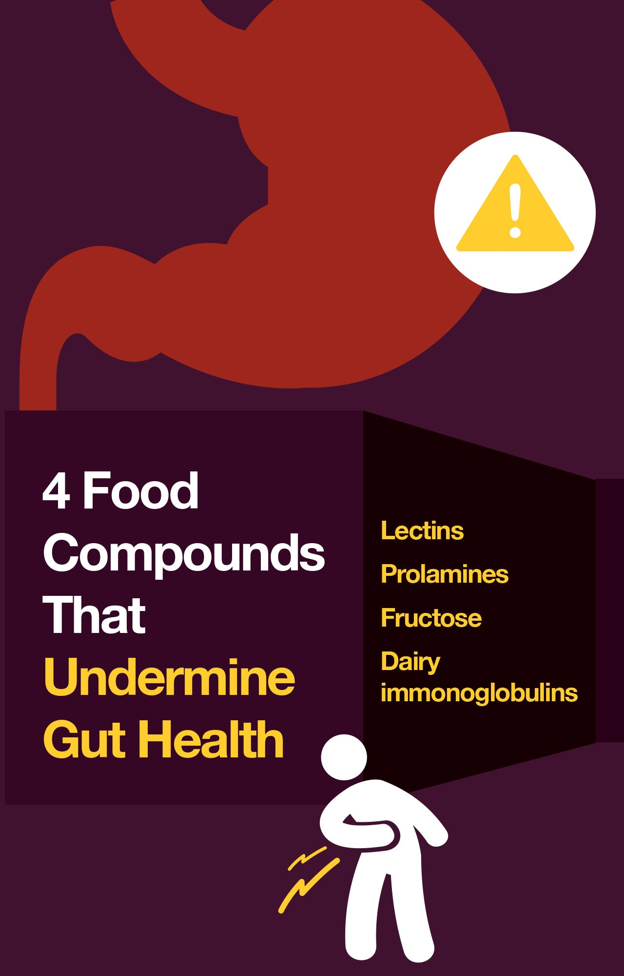 Food compounds bad for gut health