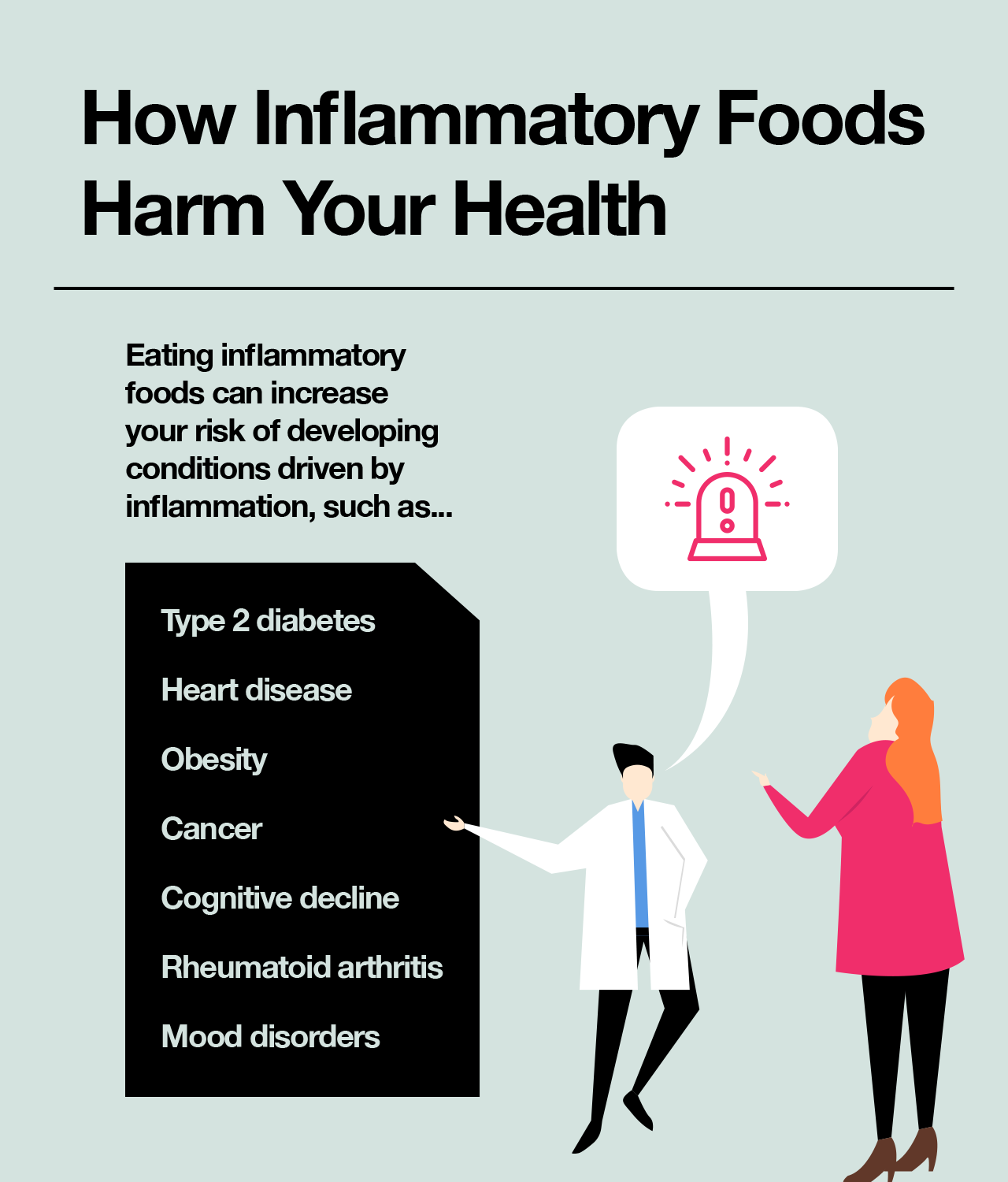 Beware of these 7 foods that cause inflammation.