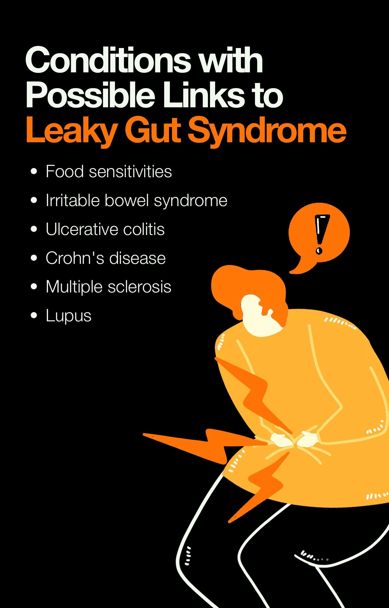 Conditions with Possible Links to Leaky Gut Syndrome