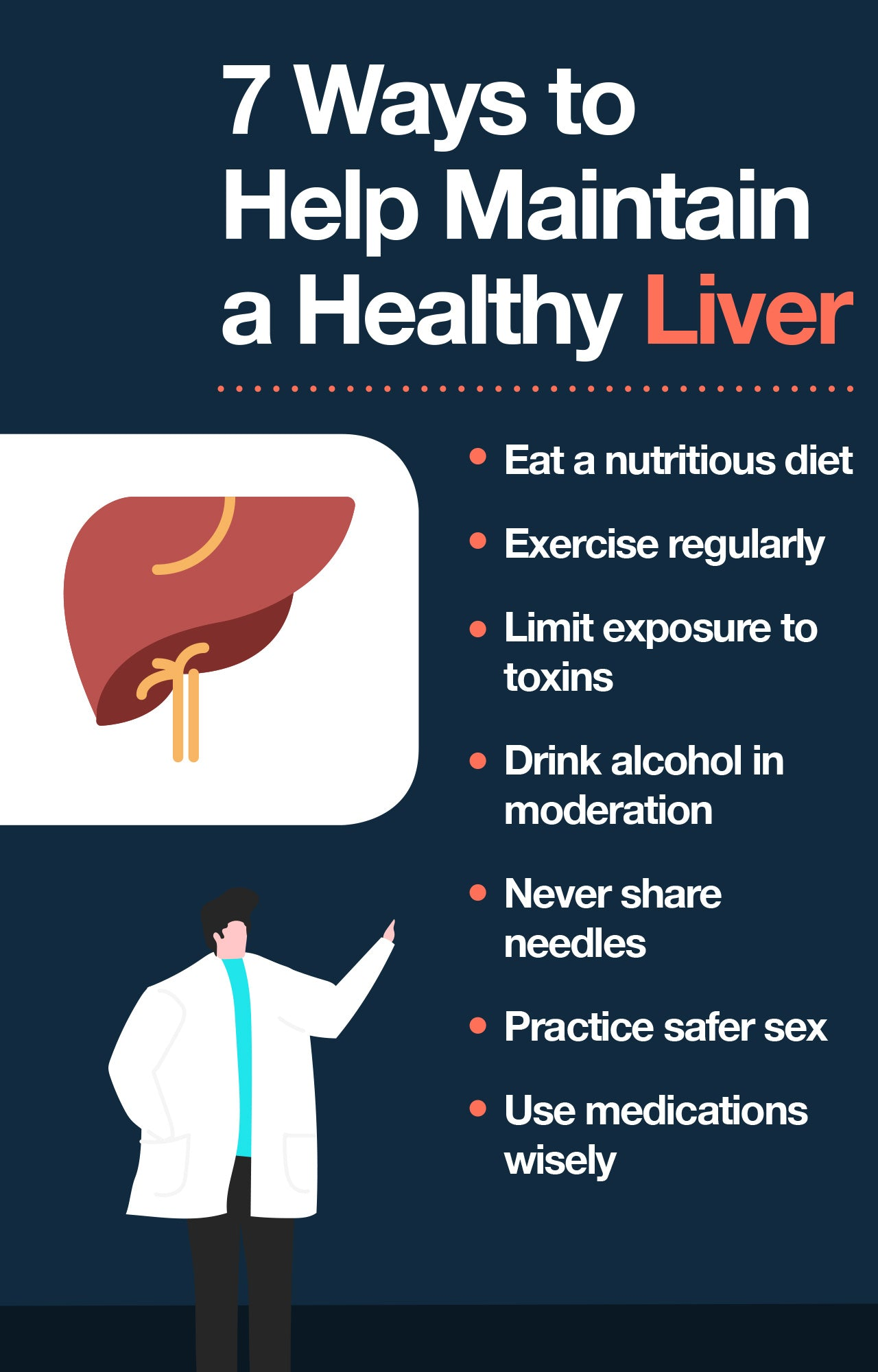 How to keep the liver healthy