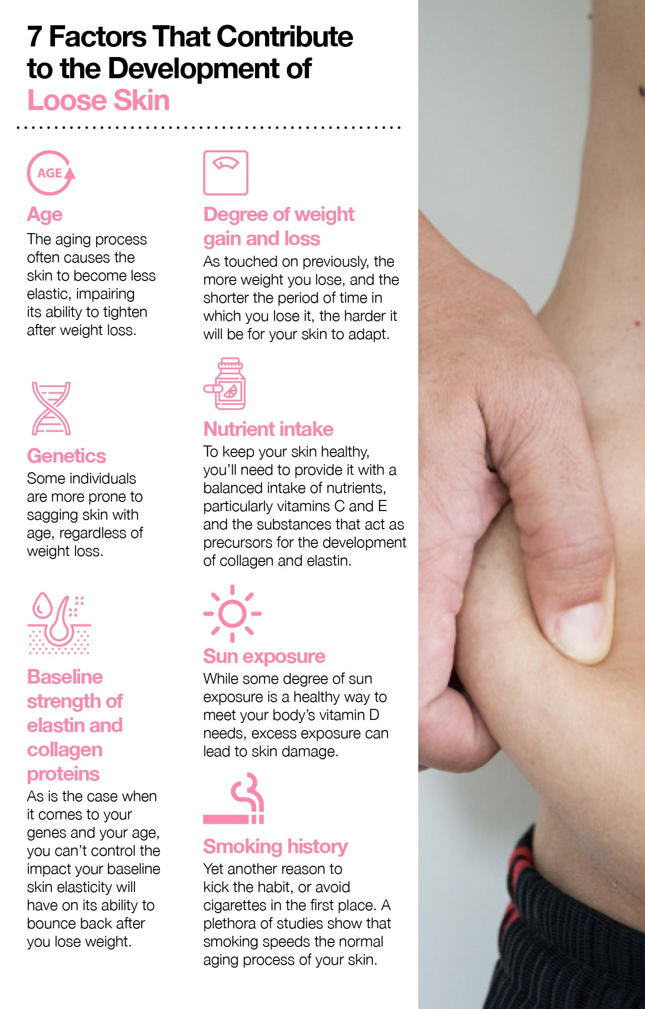 7 Factors That Contribute to the Development of Loose Skin
