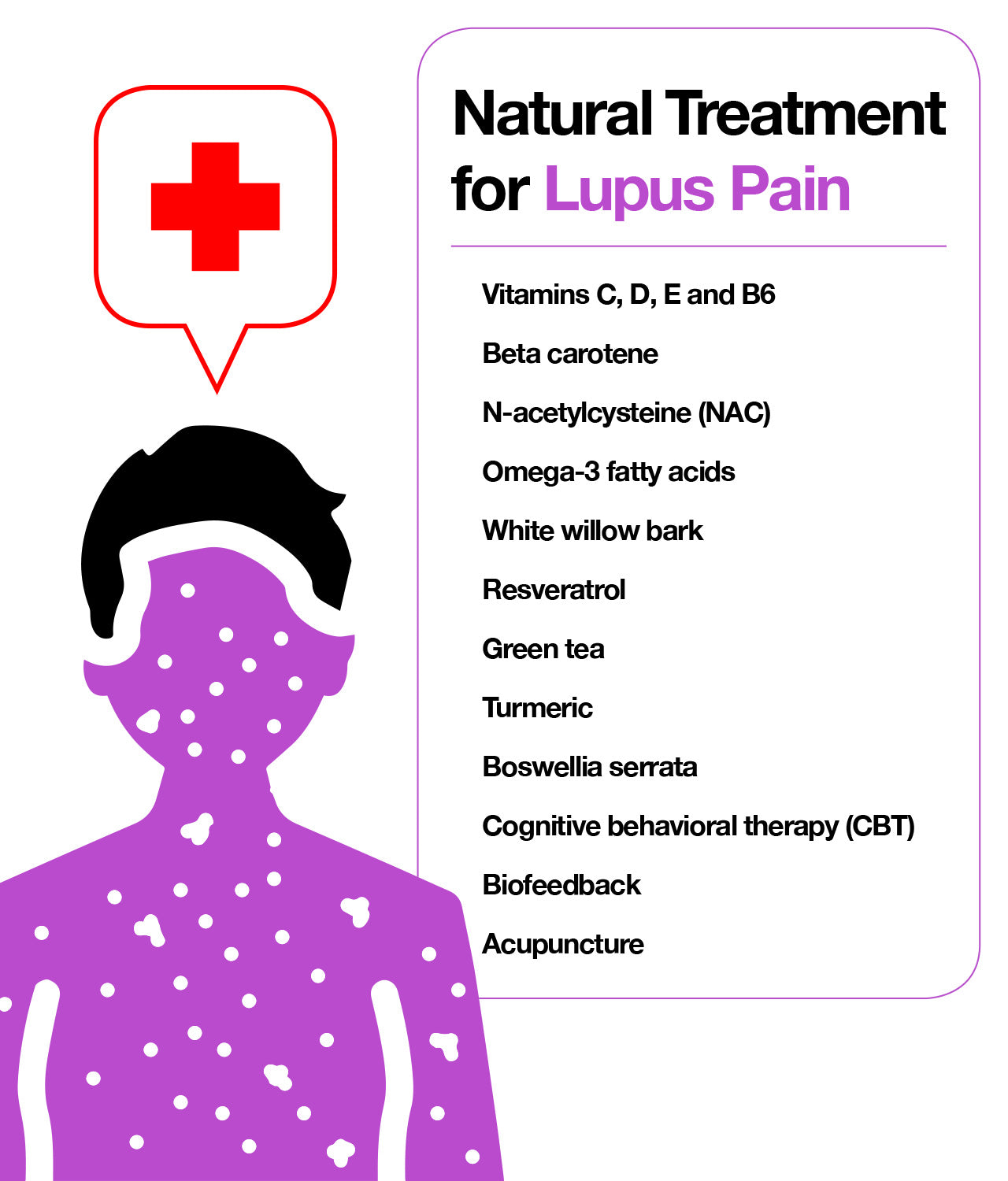 Natural treatment for lupus pain