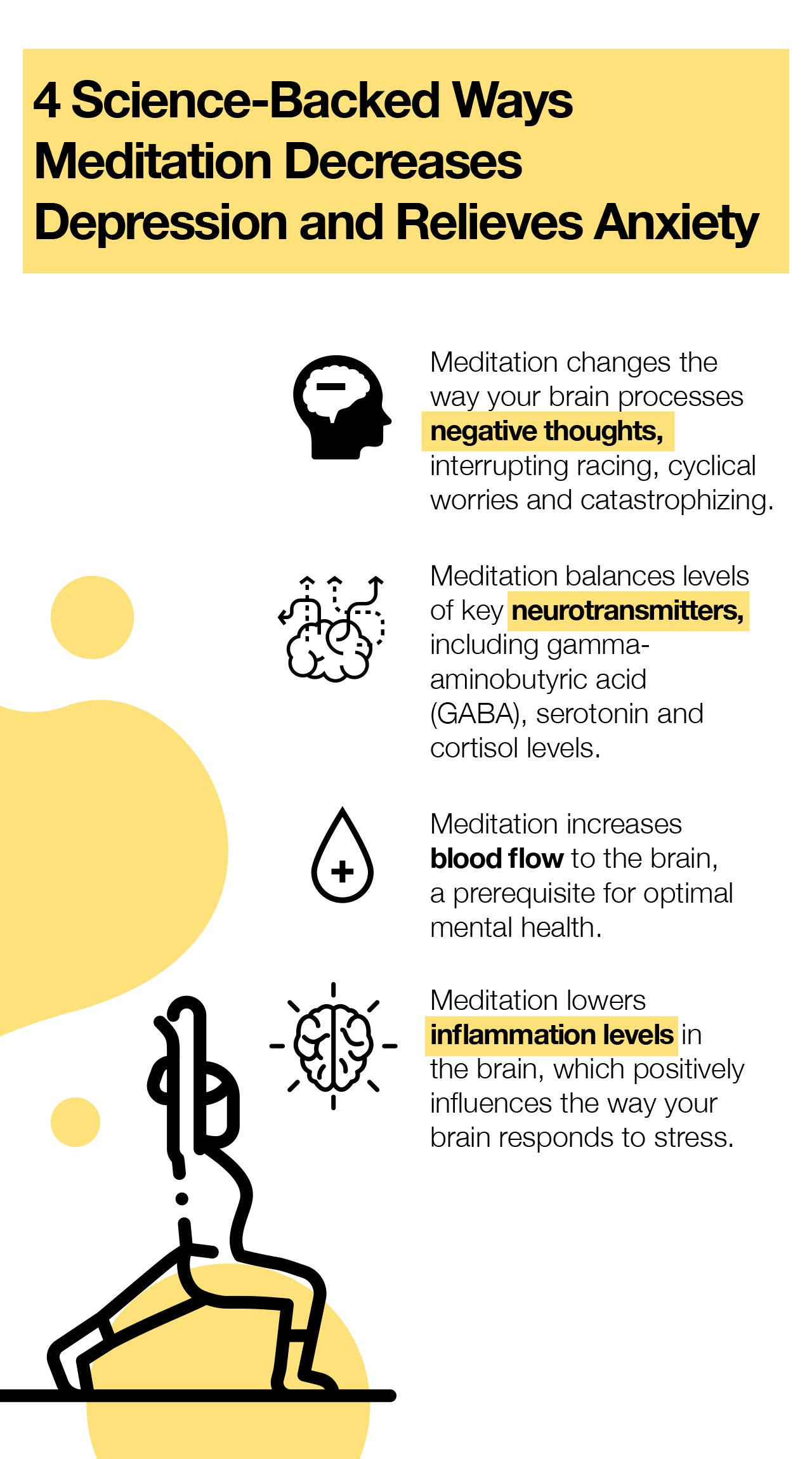 4 Science-Backed Ways Meditation Decreases Depression And Relieves Anxiety