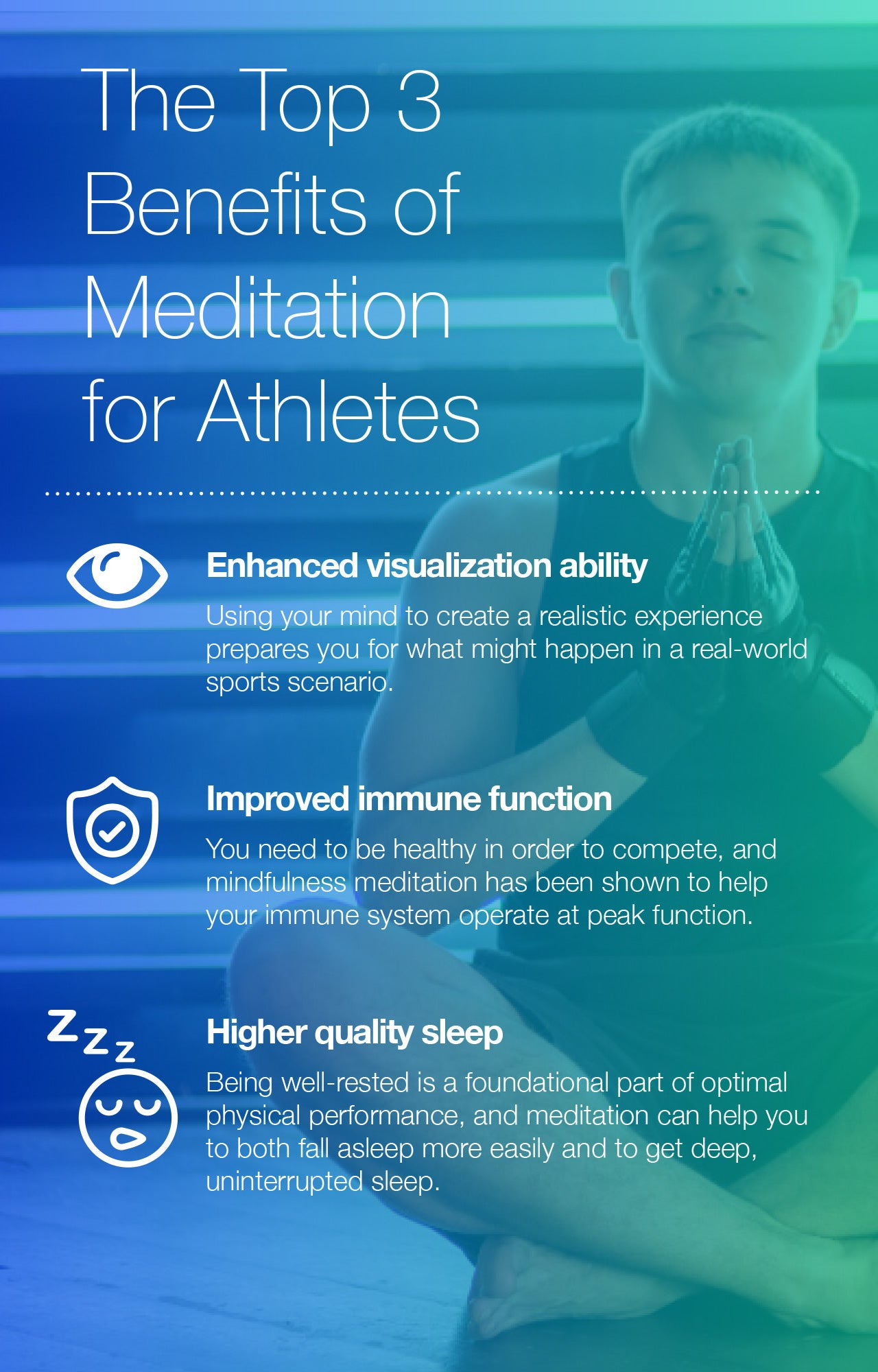 The Top 3 Benefits of Meditation for Athletes