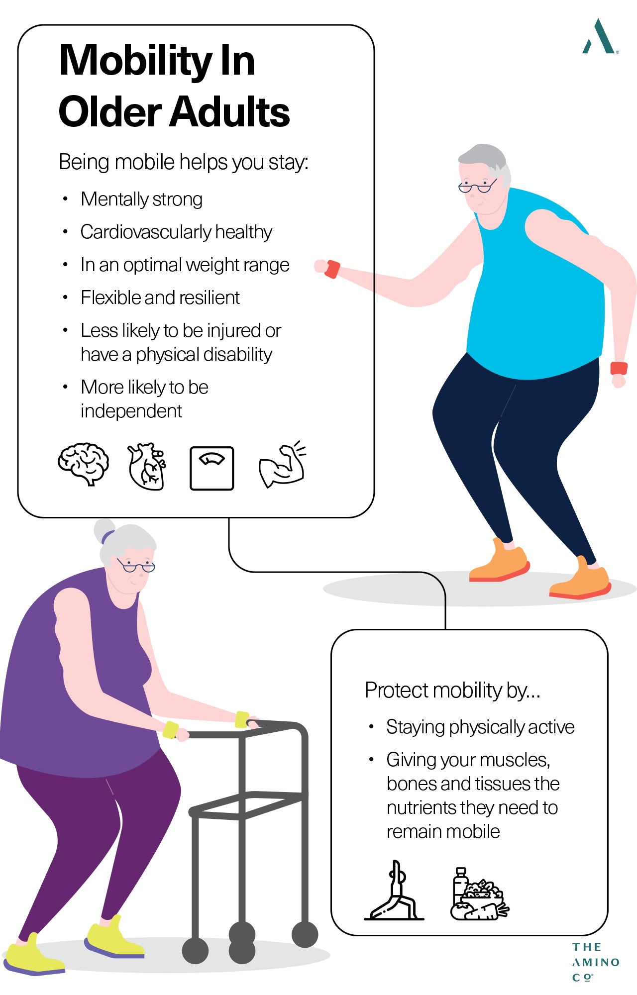 Tips for mobility in older adults