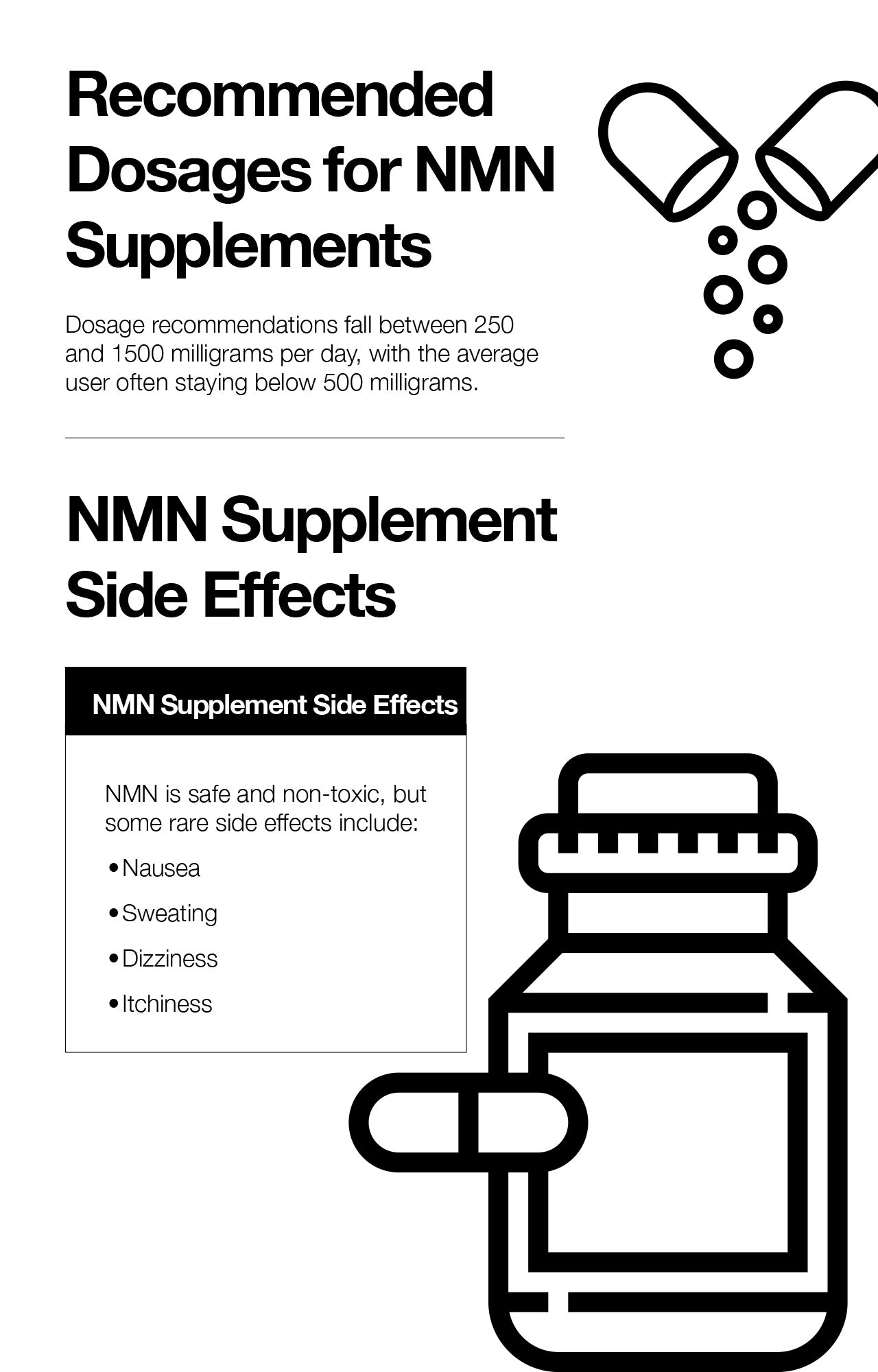 Recommended Dosages for NMN Supplements