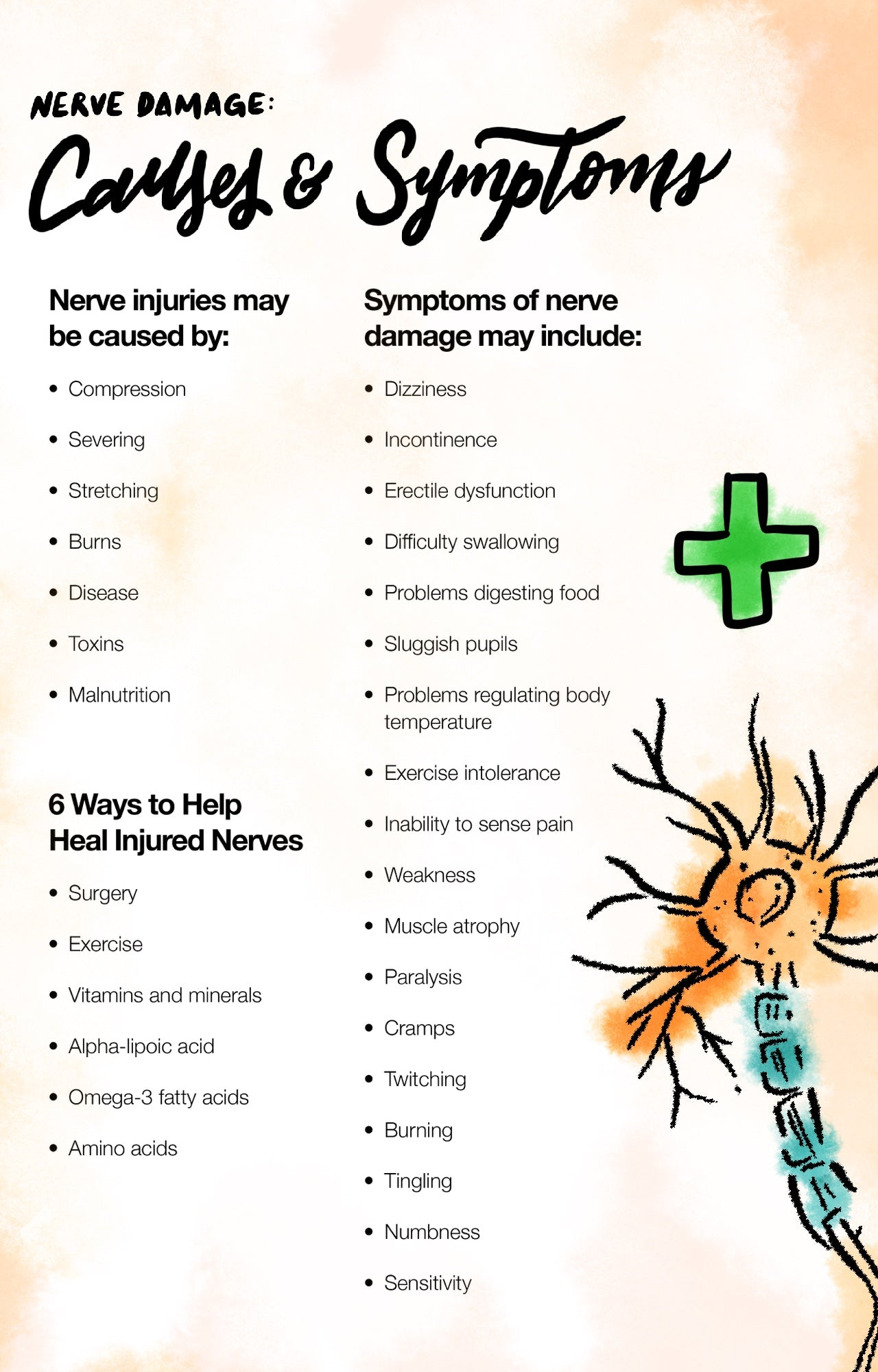 Nerve Damage: Causes and Symptoms