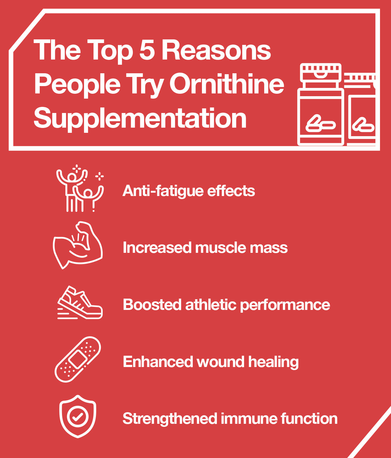5 Top Uses for Ornithine Supplements