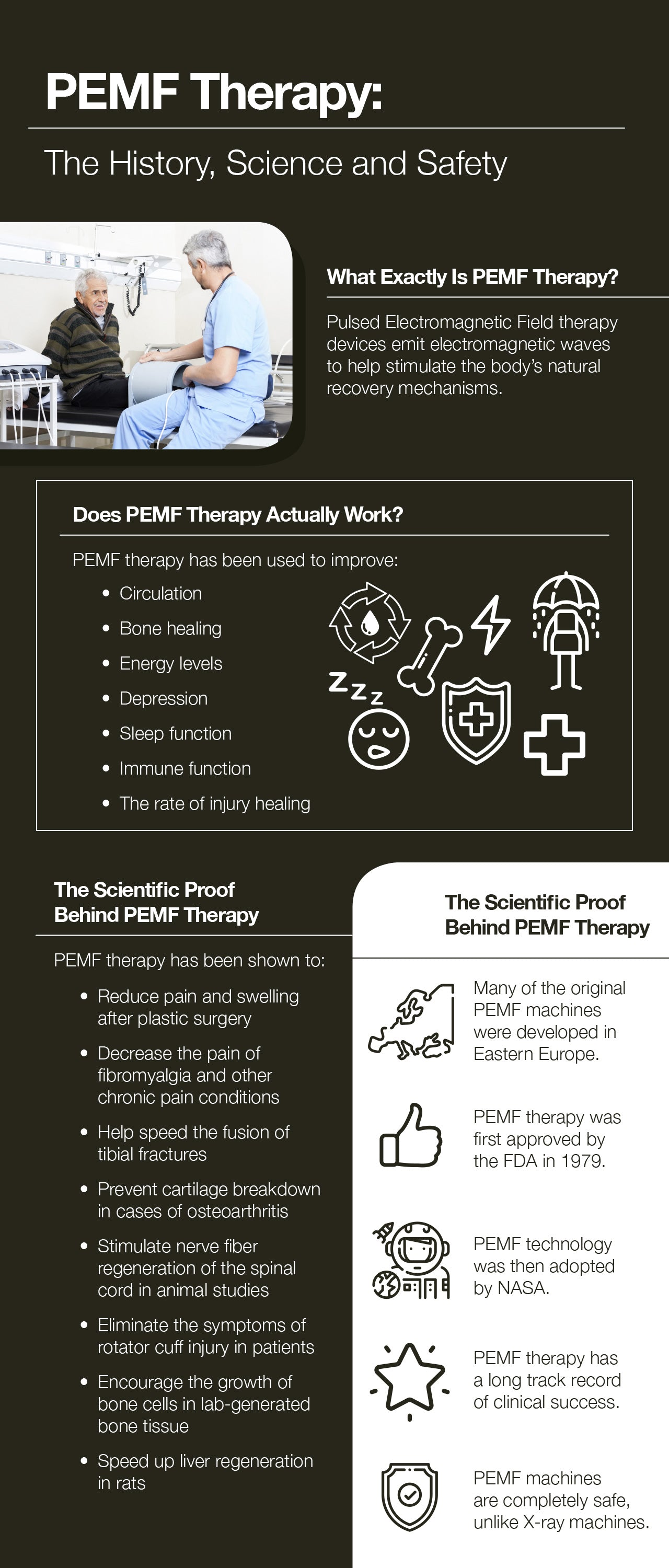 PEMF therapy: the history, science, and safety.