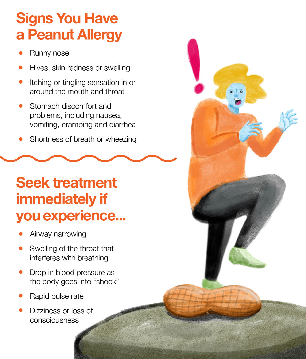 peanut allergies are one of the most frequent causes of food-induced anaphylaxis, which is a serious condition that can lead to loss of life.