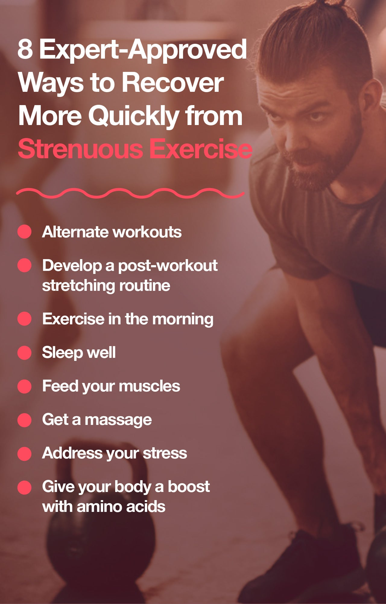 How to recover faster from workouts