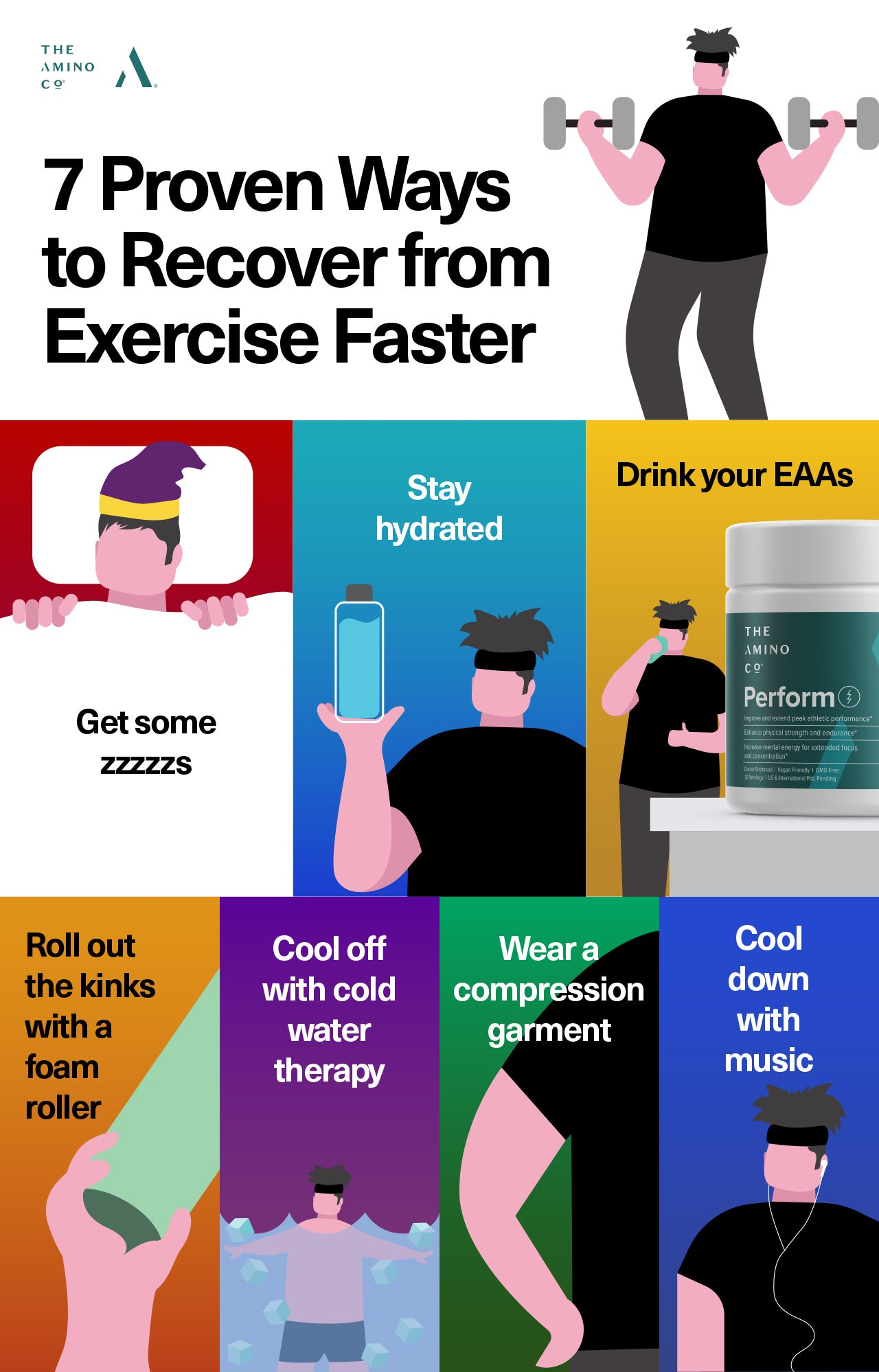 7 Proven Ways to Recover from Exercise Faster