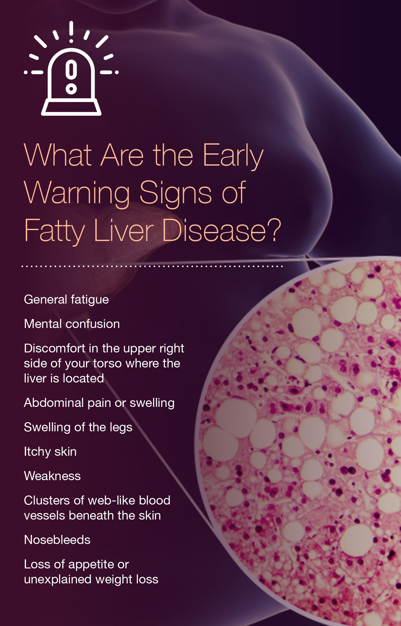 What Are the Early Warning Signs of Fatty Liver Disease?