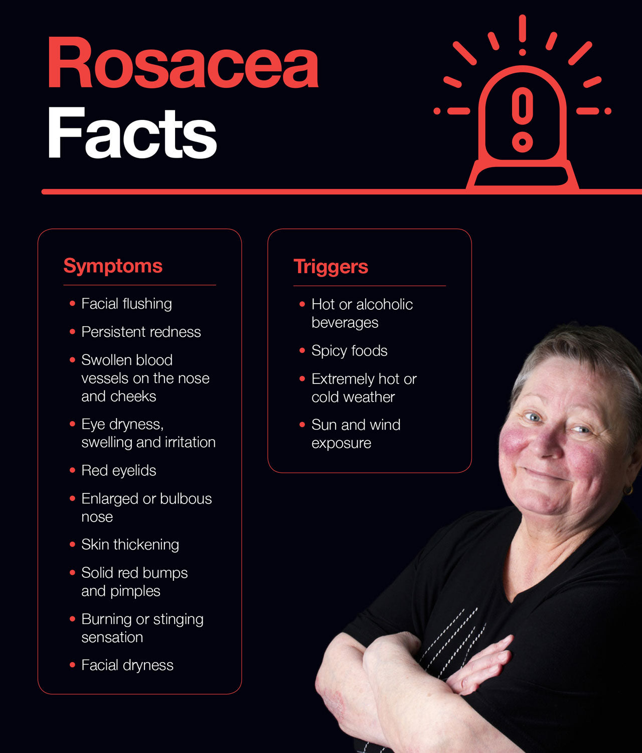 Rosacea facts to know