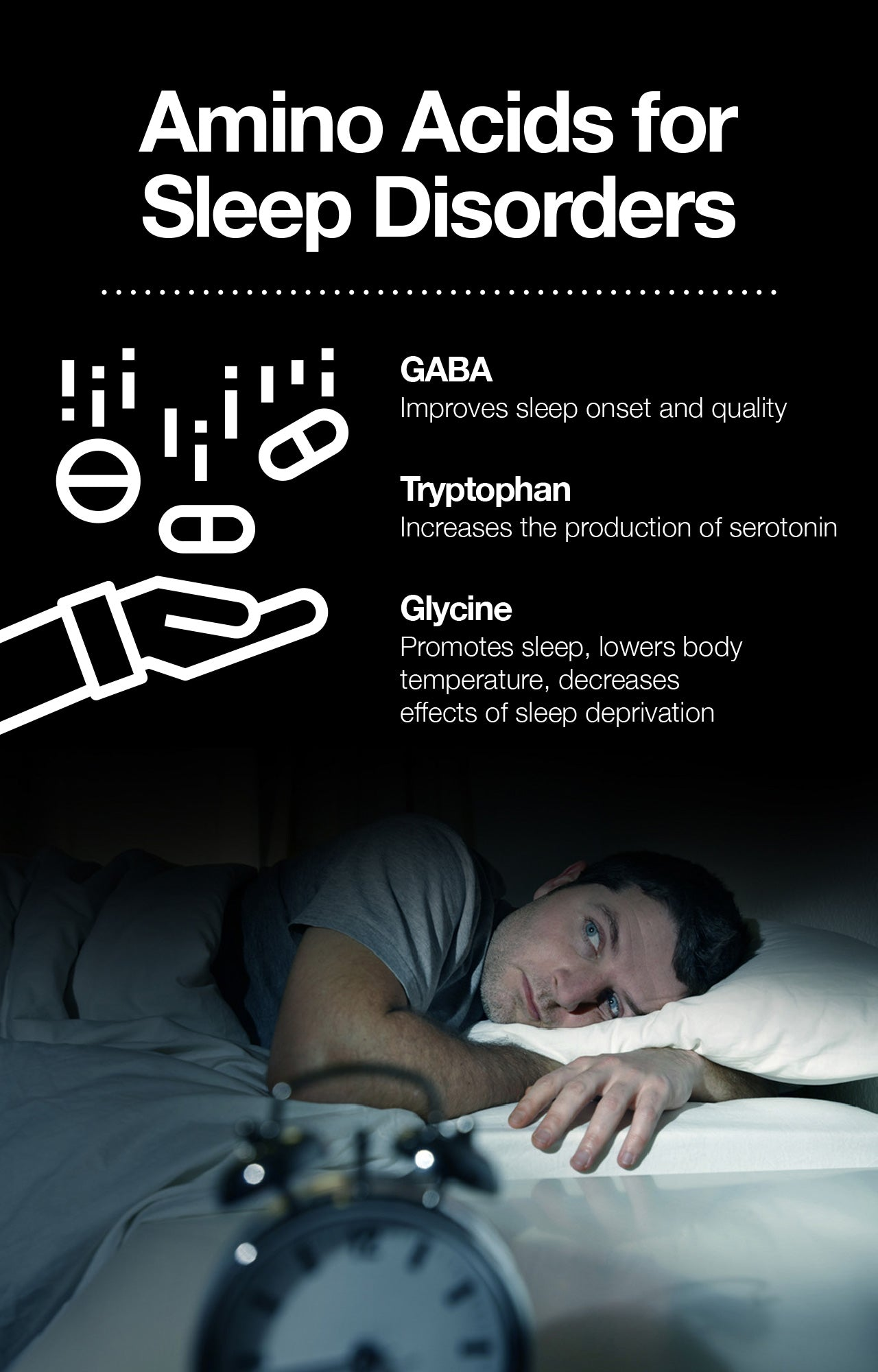 Sleeping disorders are a group of conditions that affect sleep patterns.