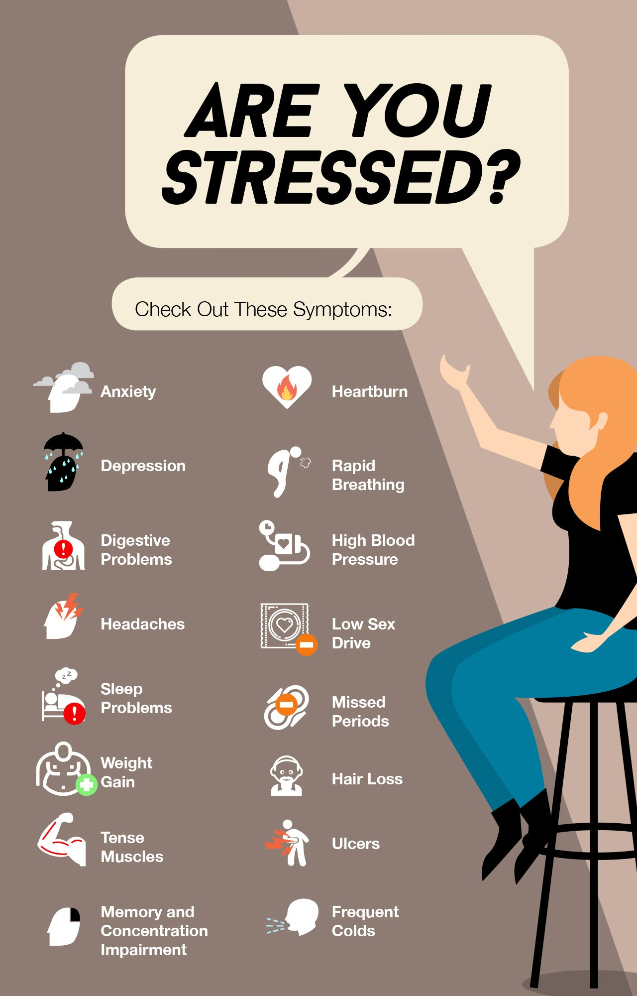 How to know if you're stressed
