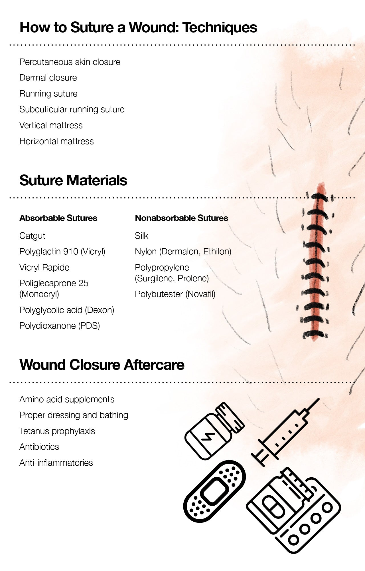 How to Suture a Wound: Techniques