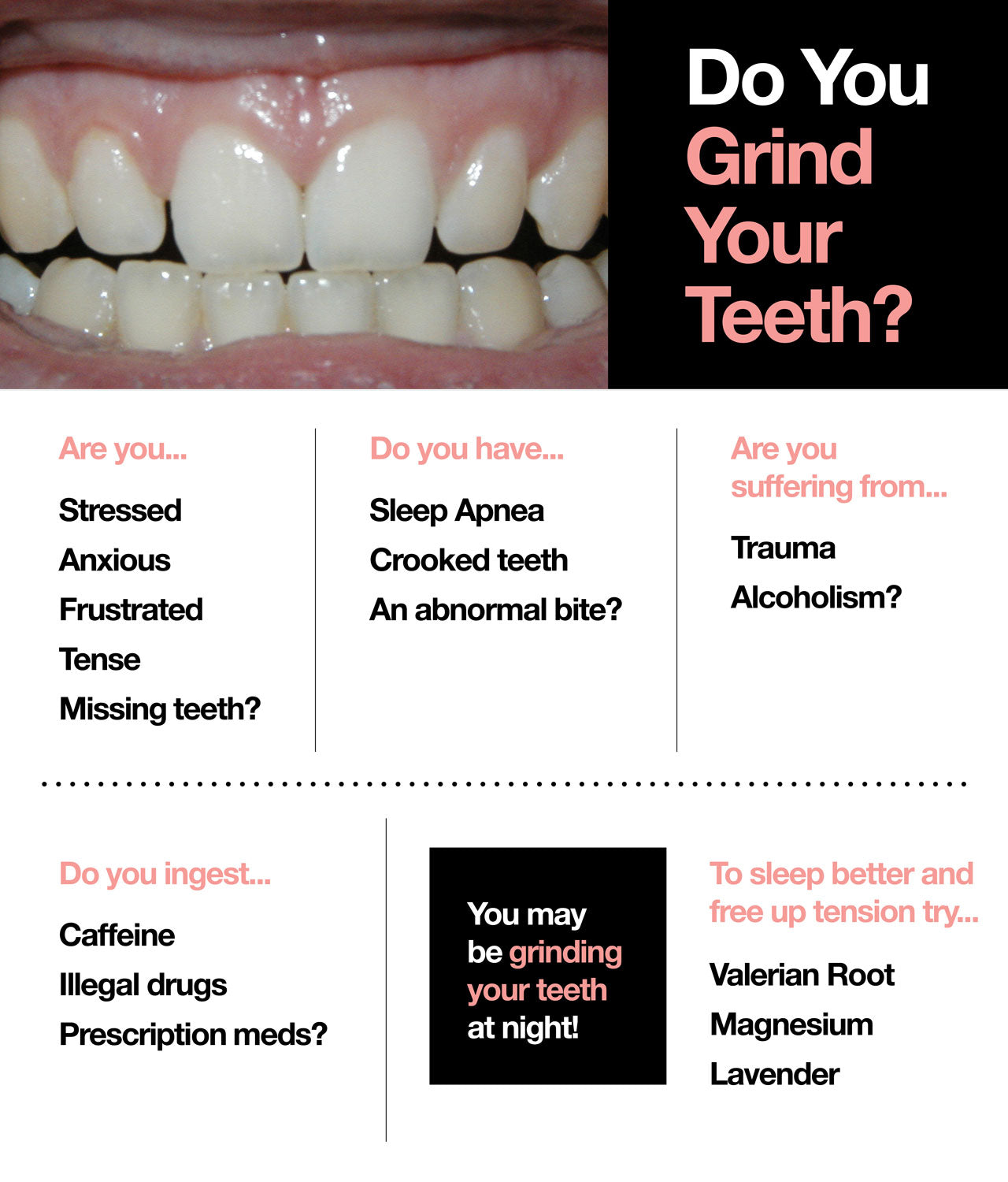 grinding your teeth