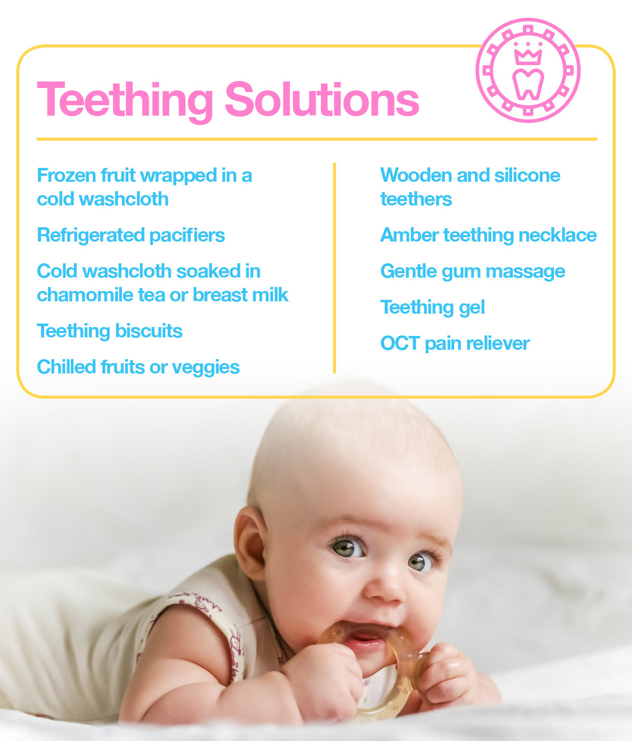 teething solutions to try