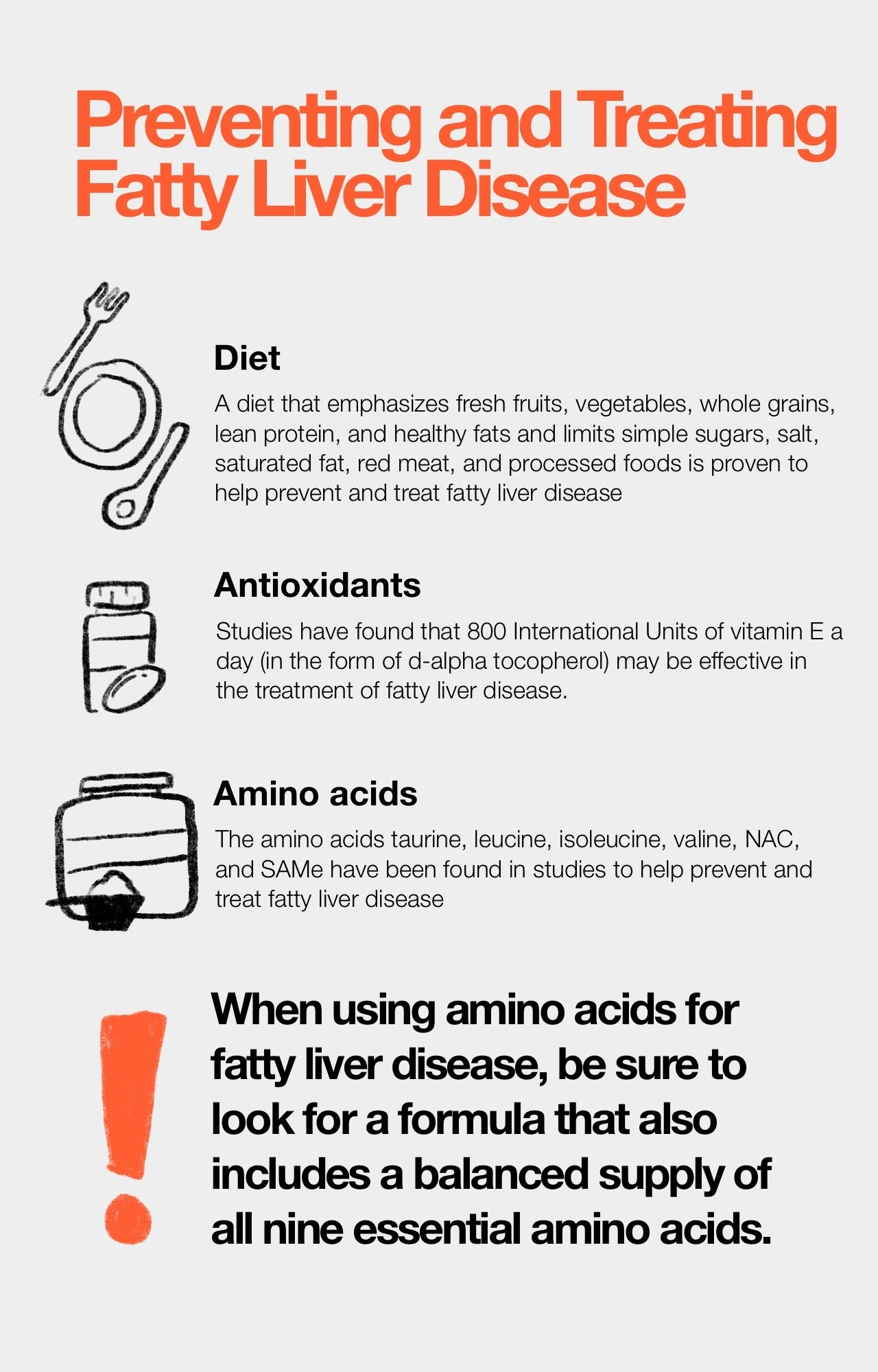 Preventing and Treating Fatty Liver Disease