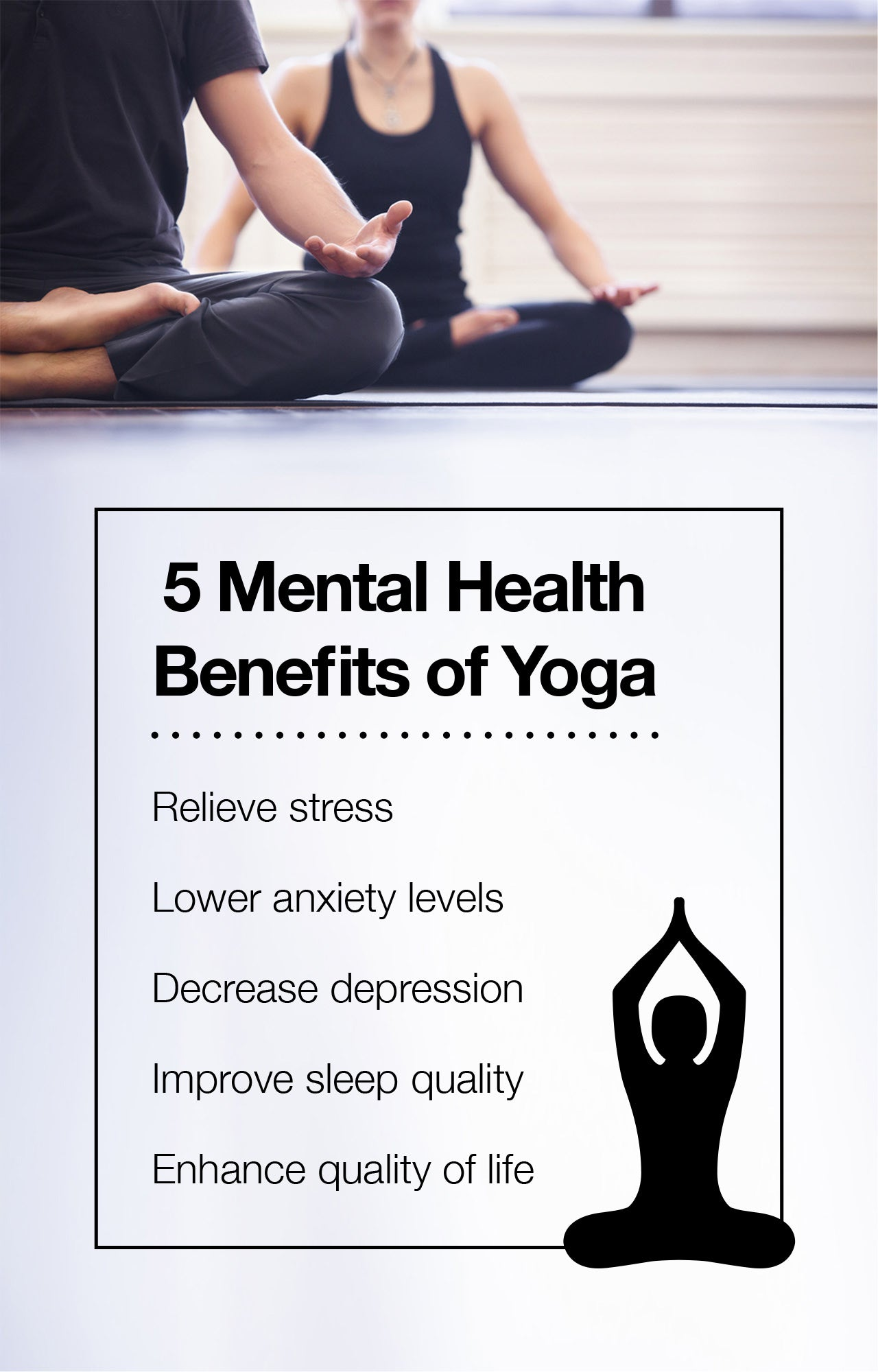 5 Mental Health Benefits of Yoga