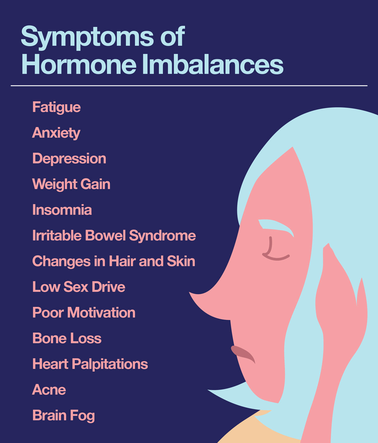 Symptoms of Hormone Imbalances