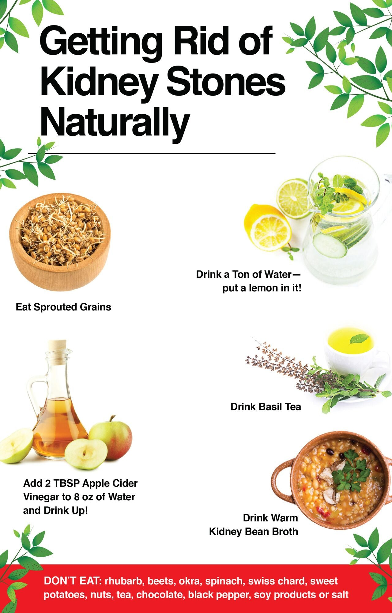 Getting rid of kidney stones naturally