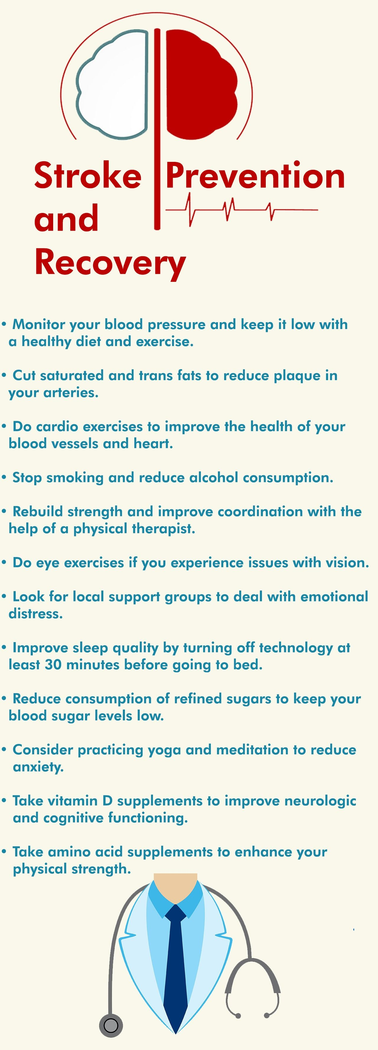 Stroke prevention and recovery tips
