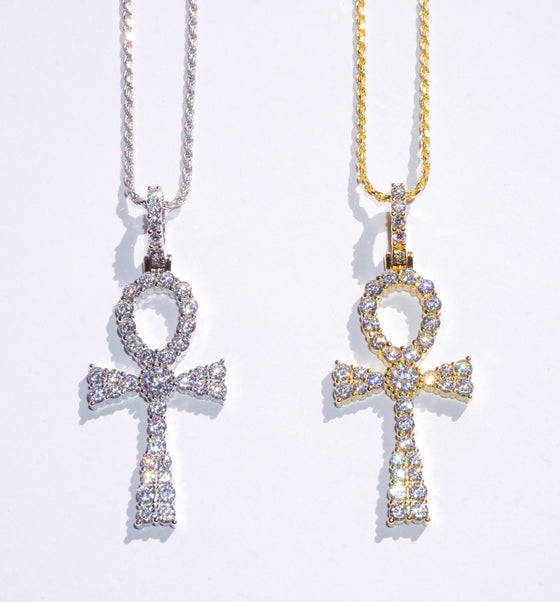 Ankh Rope Chain Necklace II