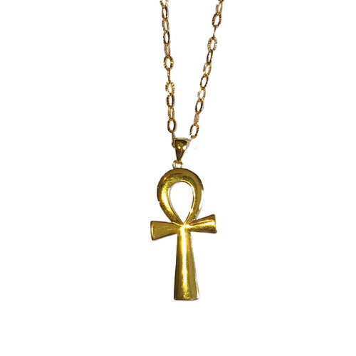 Solid Ankh Necklace