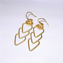 Money Magnet Citrine Earrings