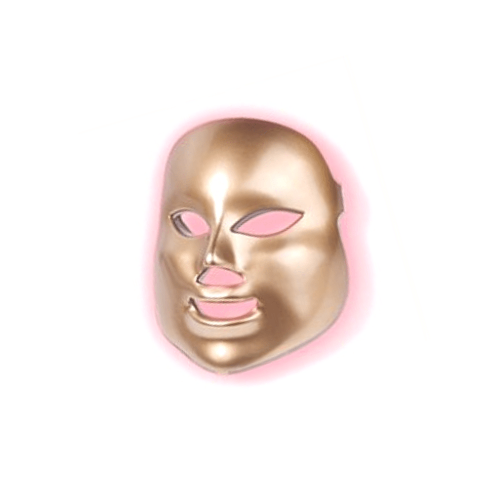 Gold LED Light therapy mask