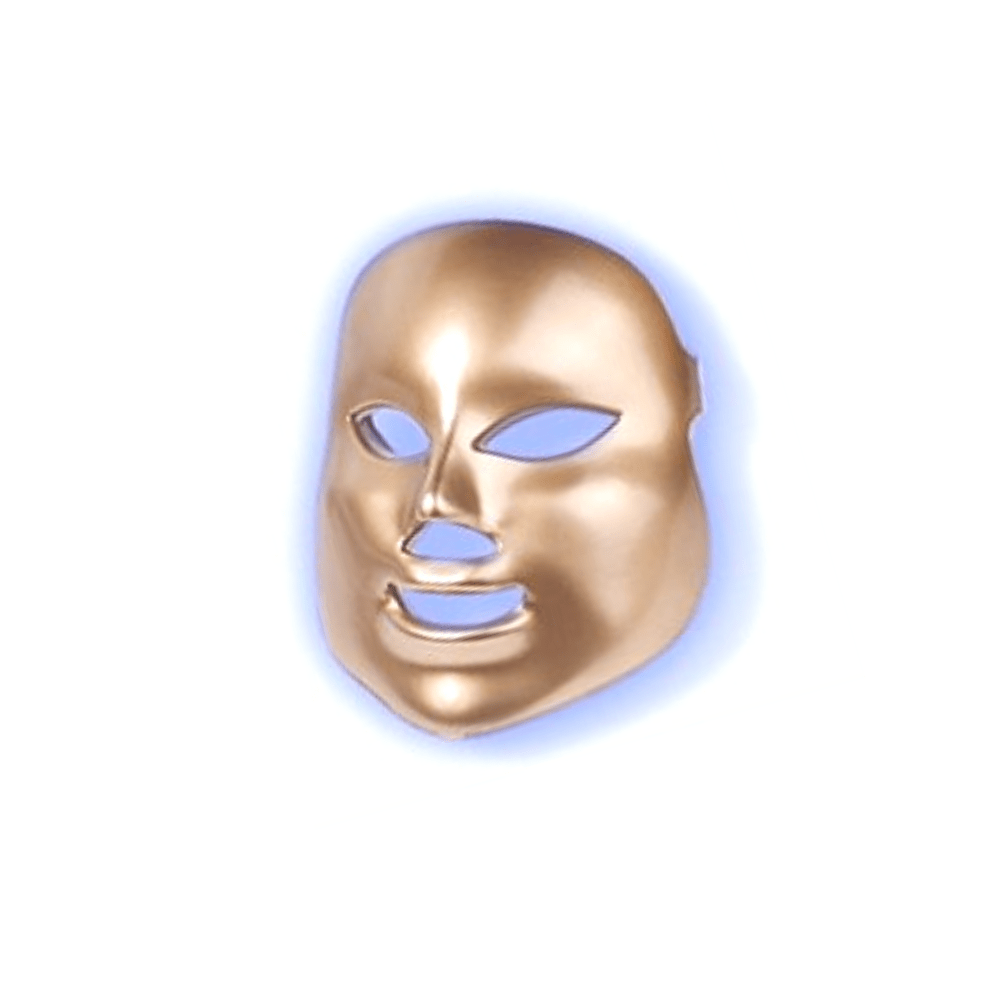 Blue light therapy mask