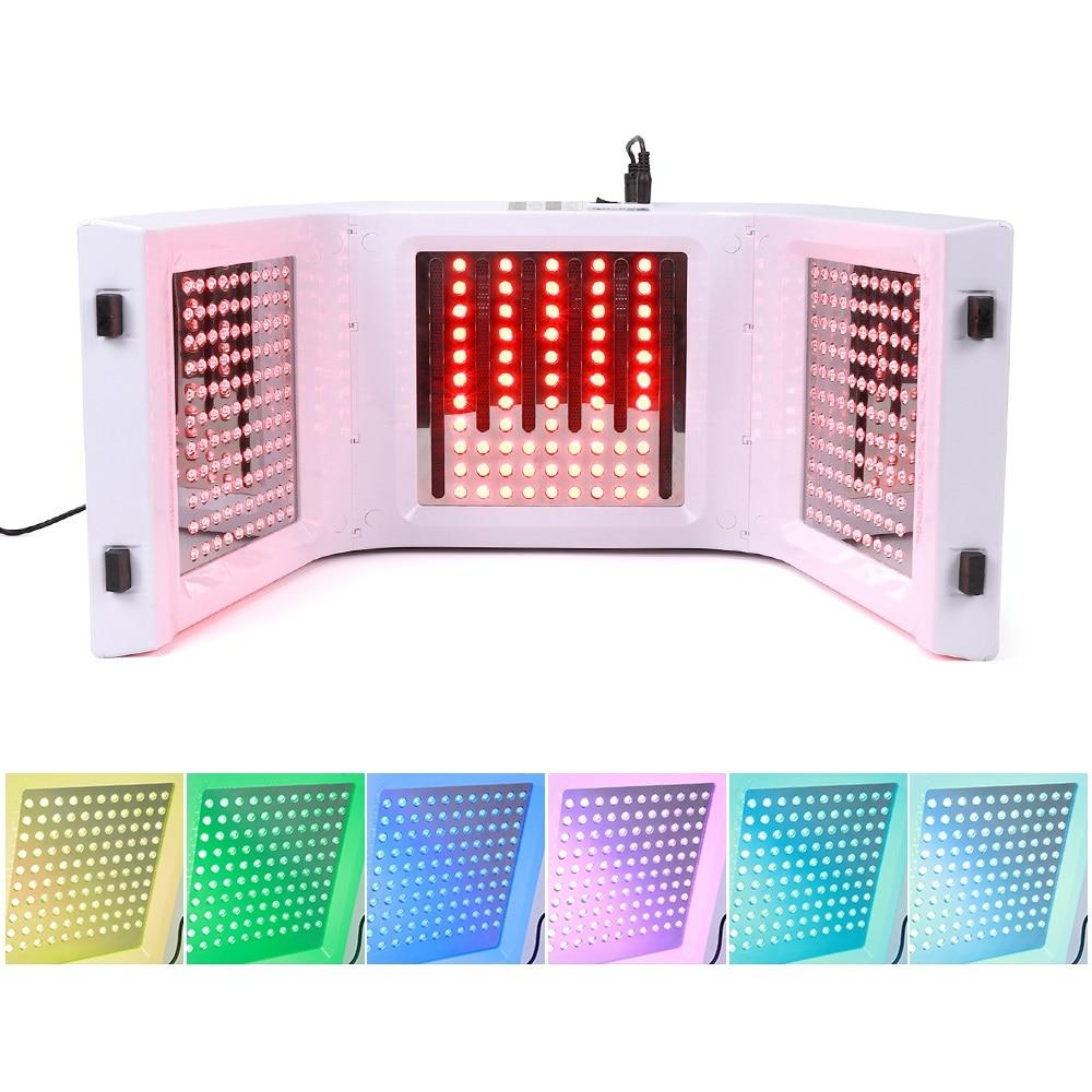 omega 7 color photon led light therapy