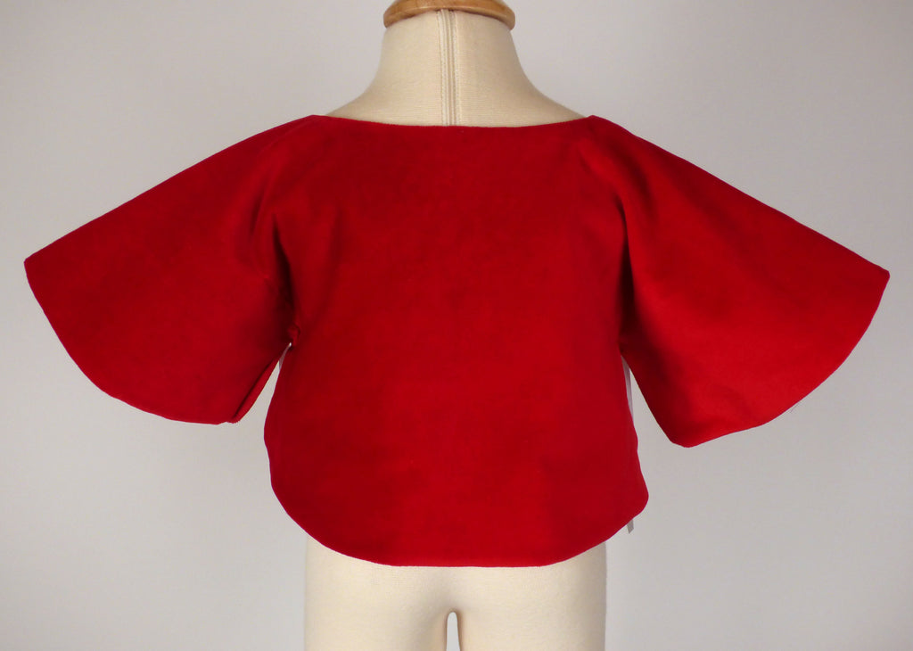 Catesby Capelet in Red
